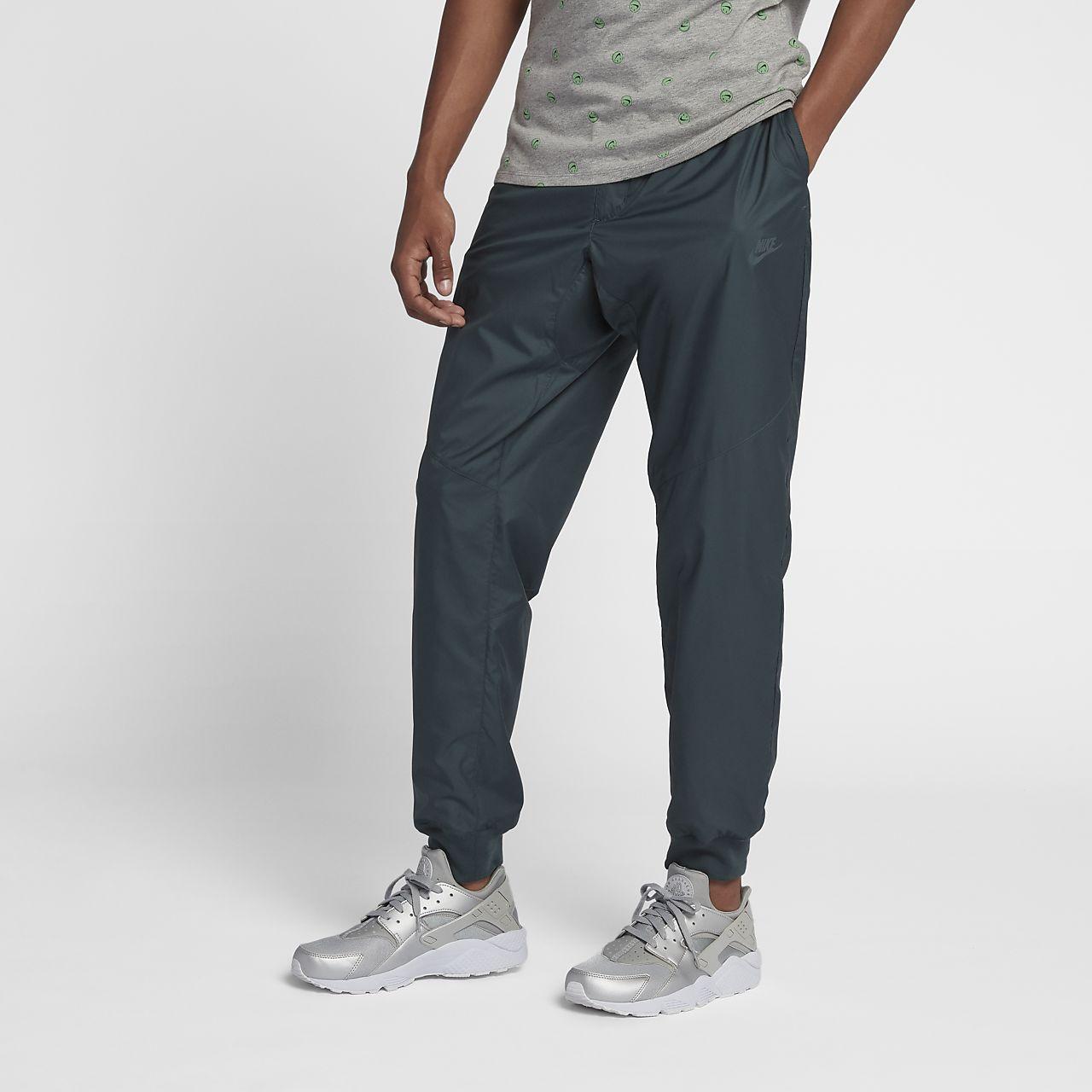 Nike Sportswear Windrunner Men's Pants Black/White