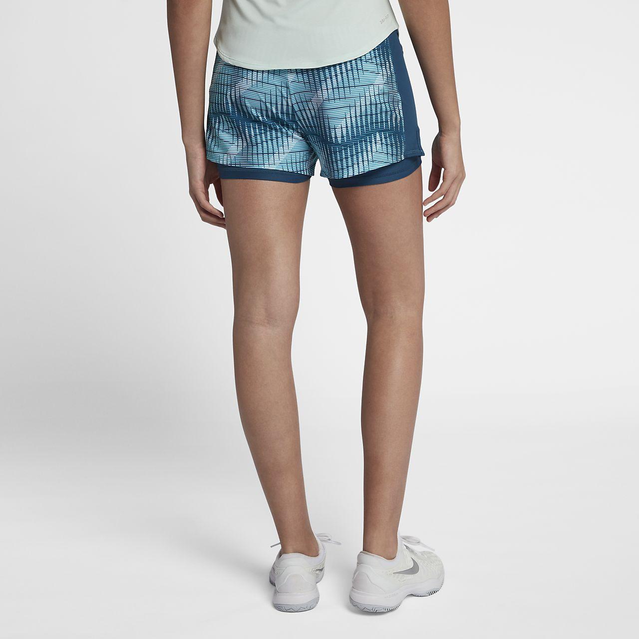 1f407b2cc9fc NikeCourt Flex Pure Women s Tennis Shorts. Nike.com CZ