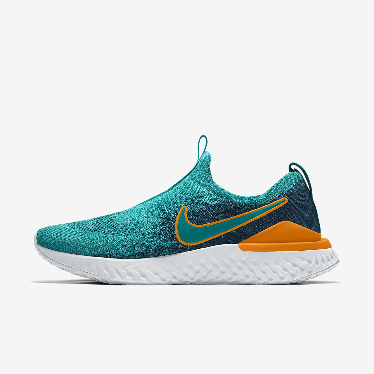 Nike Epic Phantom React Flyknit By You Zapatillas de running personalizables - Hombre