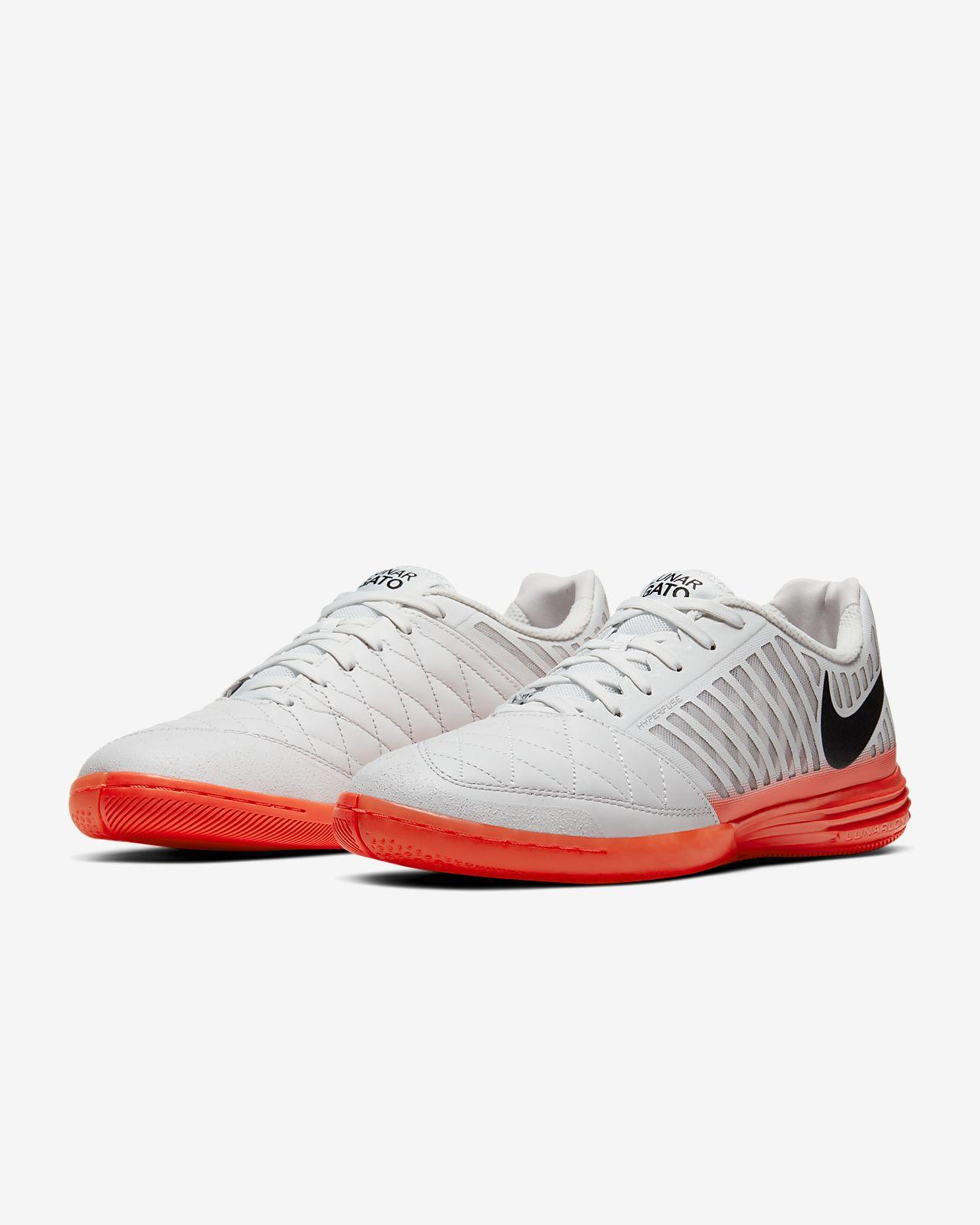 catch sleek release info on Nike Lunar Gato II IC Indoor Court Football Shoe. Nike LU