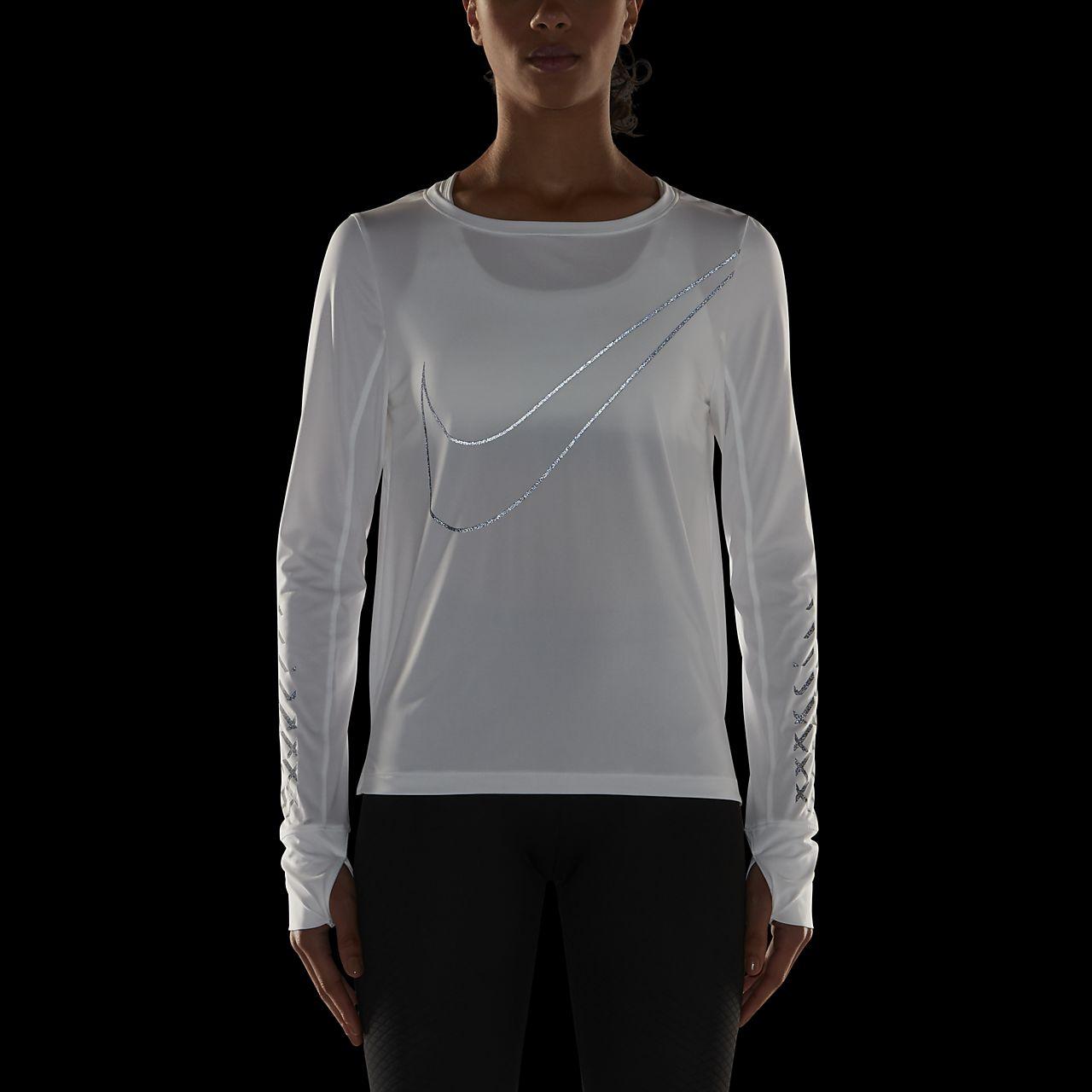 ... Nike Breathe (City) Women's Long-Sleeve Running Top