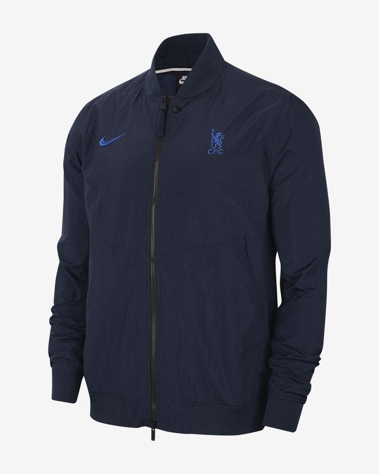 Chelsea FC Men's Varsity Jacket. Nike CA