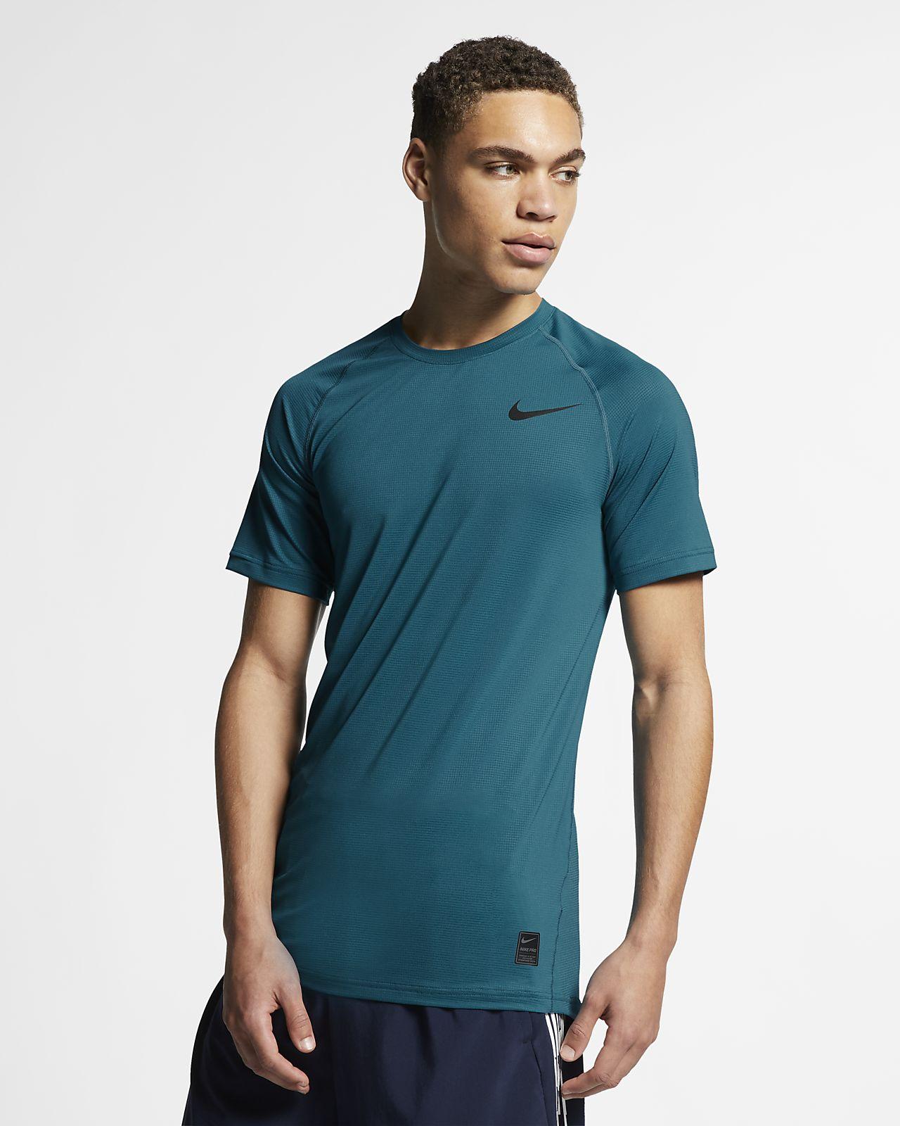 Nike Breathe Pro Kısa Kollu Erkek Üstü