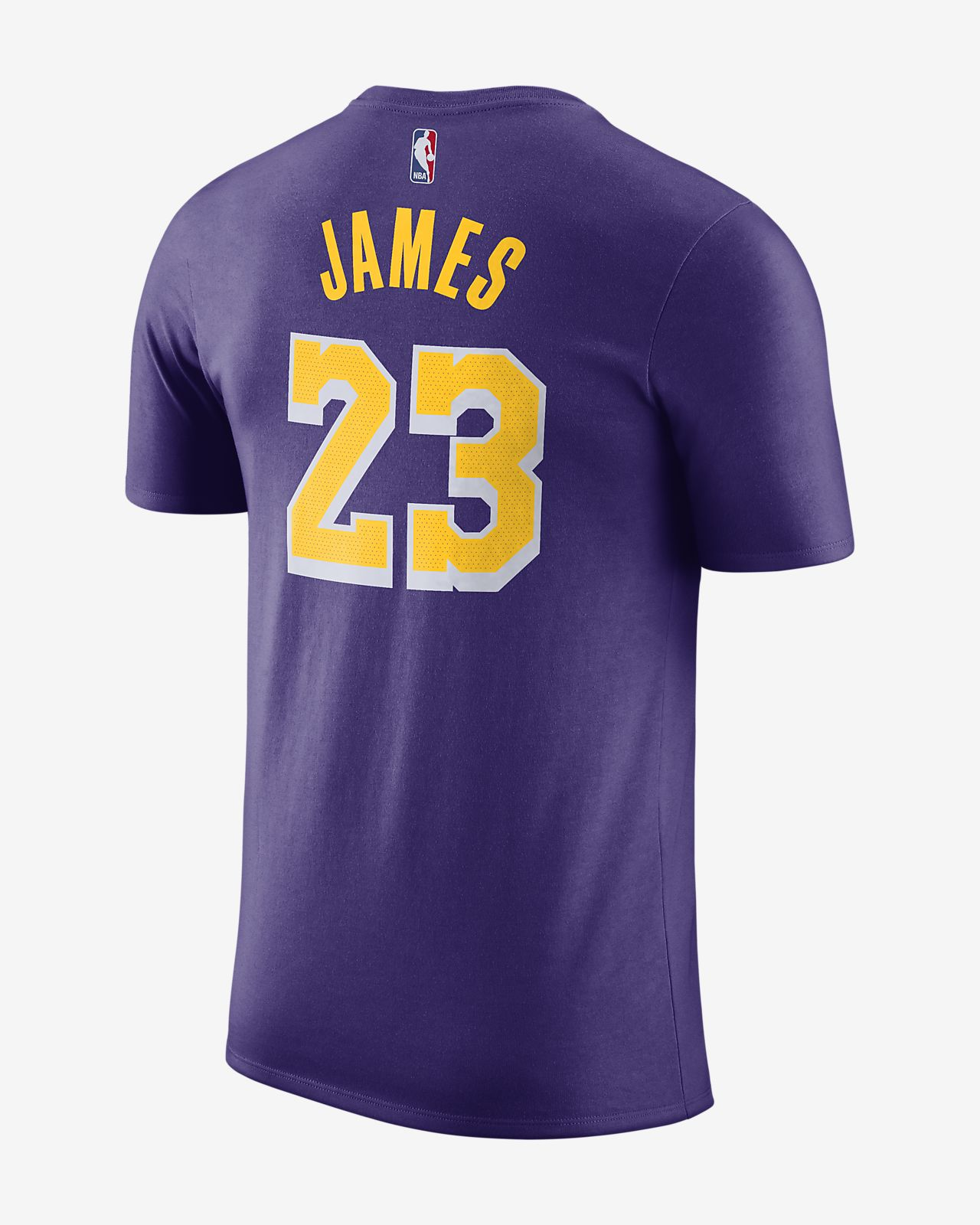 Toddler Los Angeles Lakers LeBron James Nike Gold Name & Number T Shirt