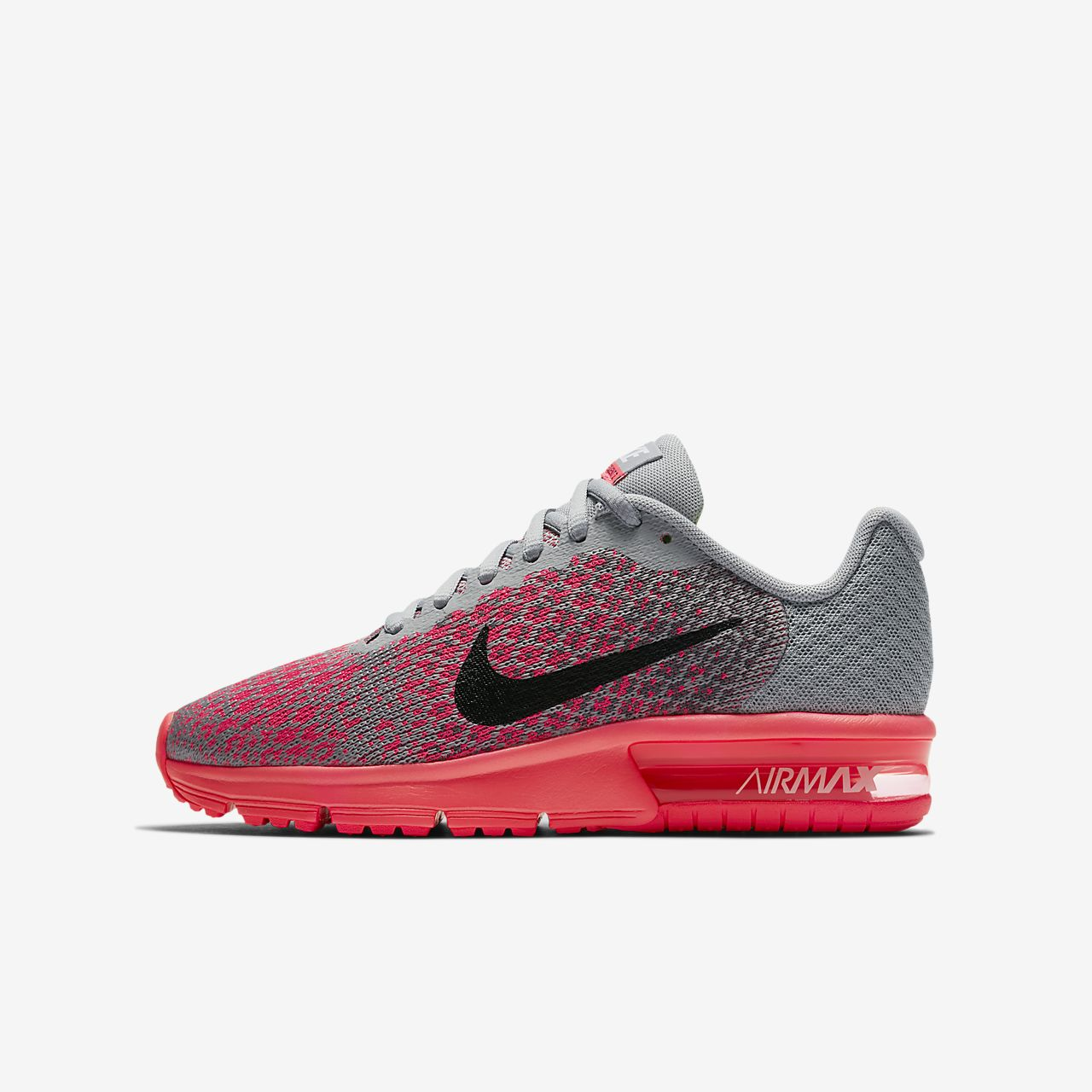 Nike Air Max Sequent 2 løpesko for store barn