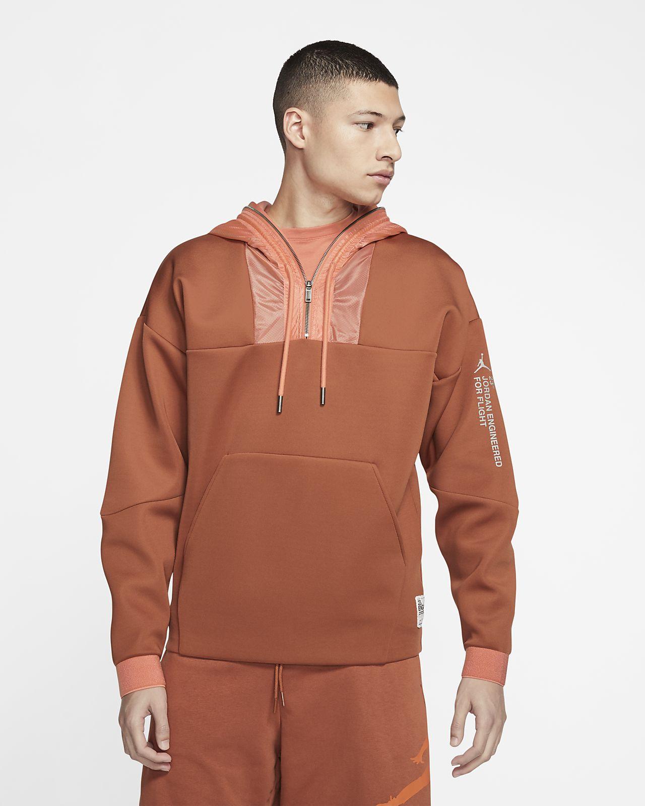 Jordan 23 Engineered-pullover-hættetrøje med lynlås i halv længde