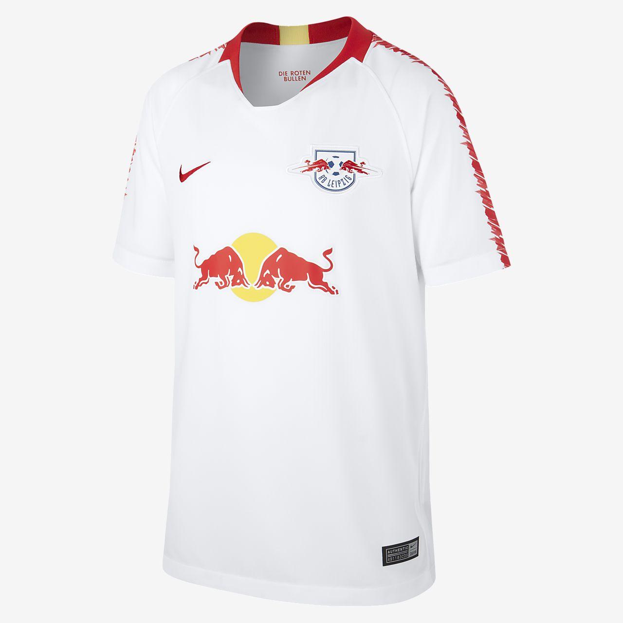 Fotbollströja 2018/19 RB Leipzig Stadium Home för ungdom