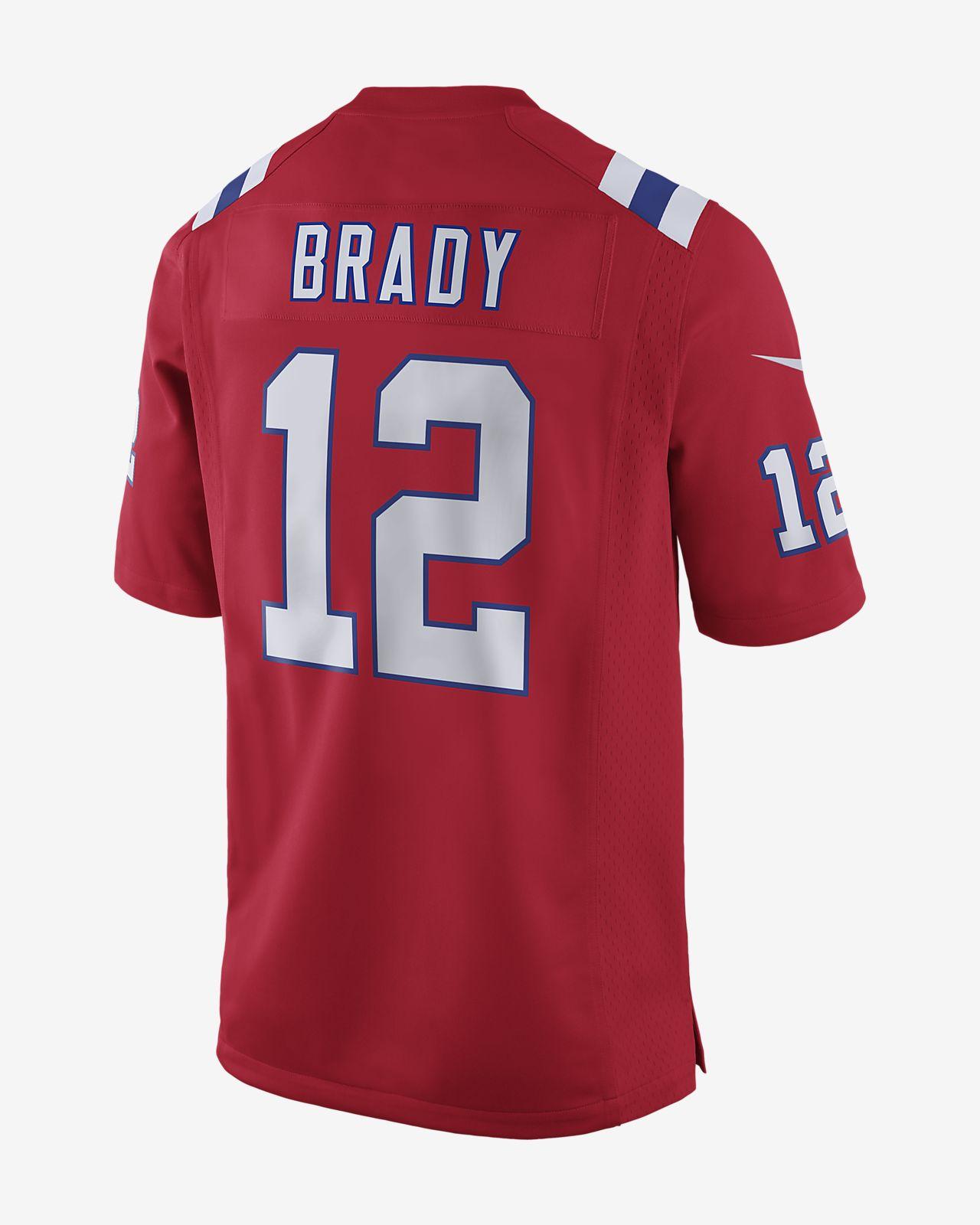 a348fe51 NFL New England Patriots Super Bowl LIII (Tom Brady) Men's Game Football  Jersey