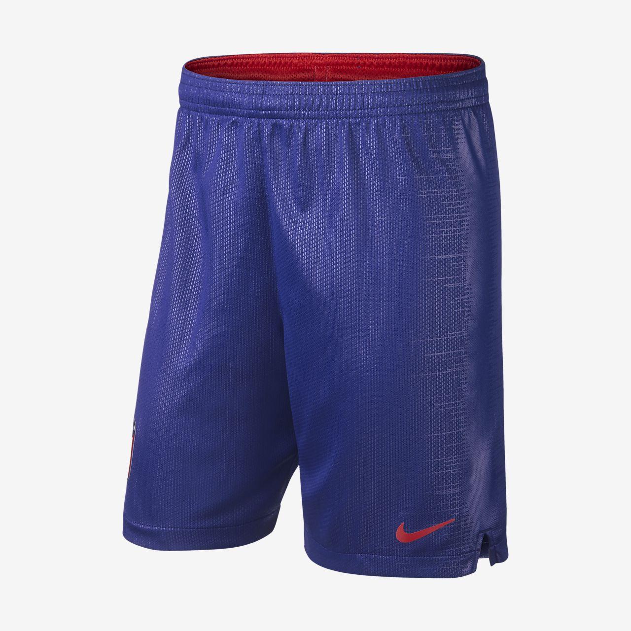 2018/19 Atletico de Madrid Stadium Home/Away Older Kids' Football Shorts