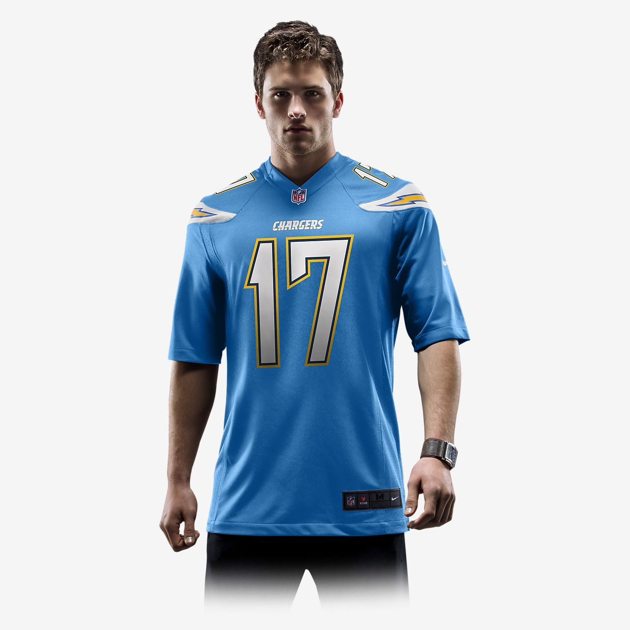 innovative design 4b5c8 a884f NFL Los Angeles Chargers (Philip Rivers) Men's Game Football Jersey