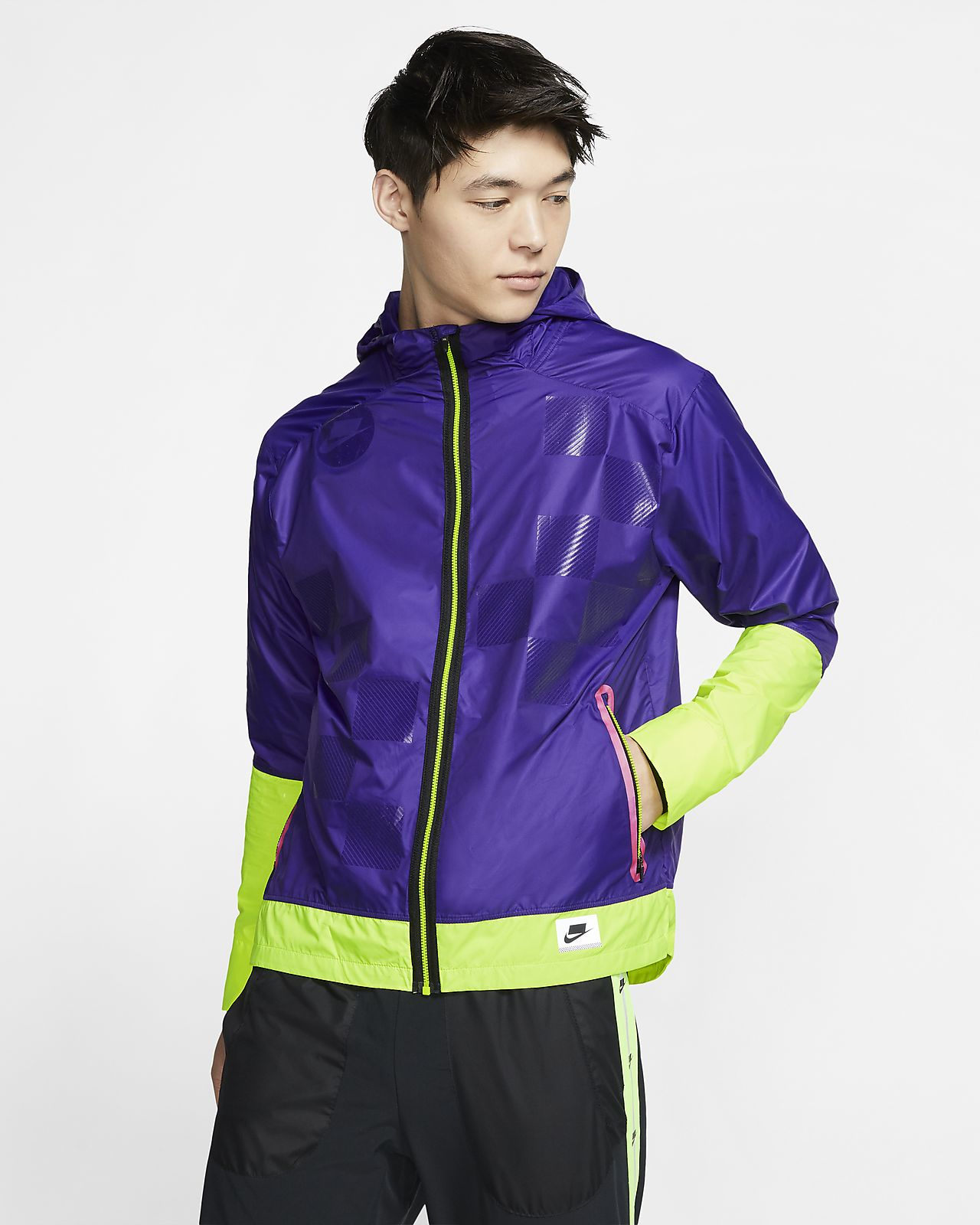 online here outlet new product Veste de running Flash Nike Shield pour Homme