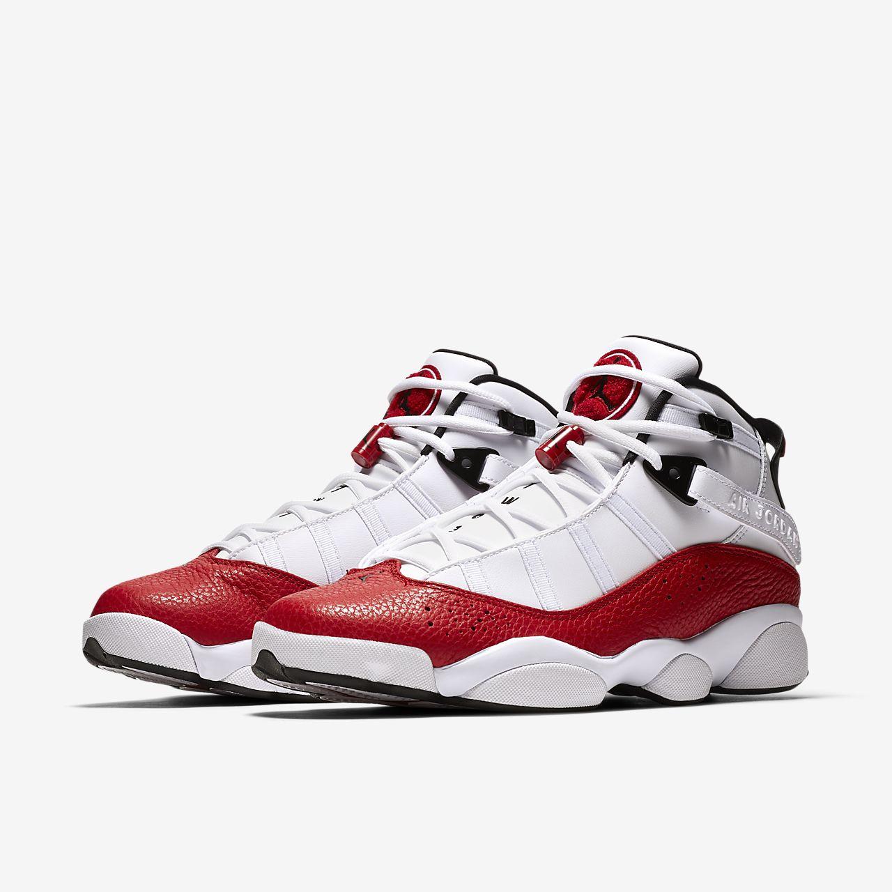 Find Nike Jordan 6 Cheap sale Black Red
