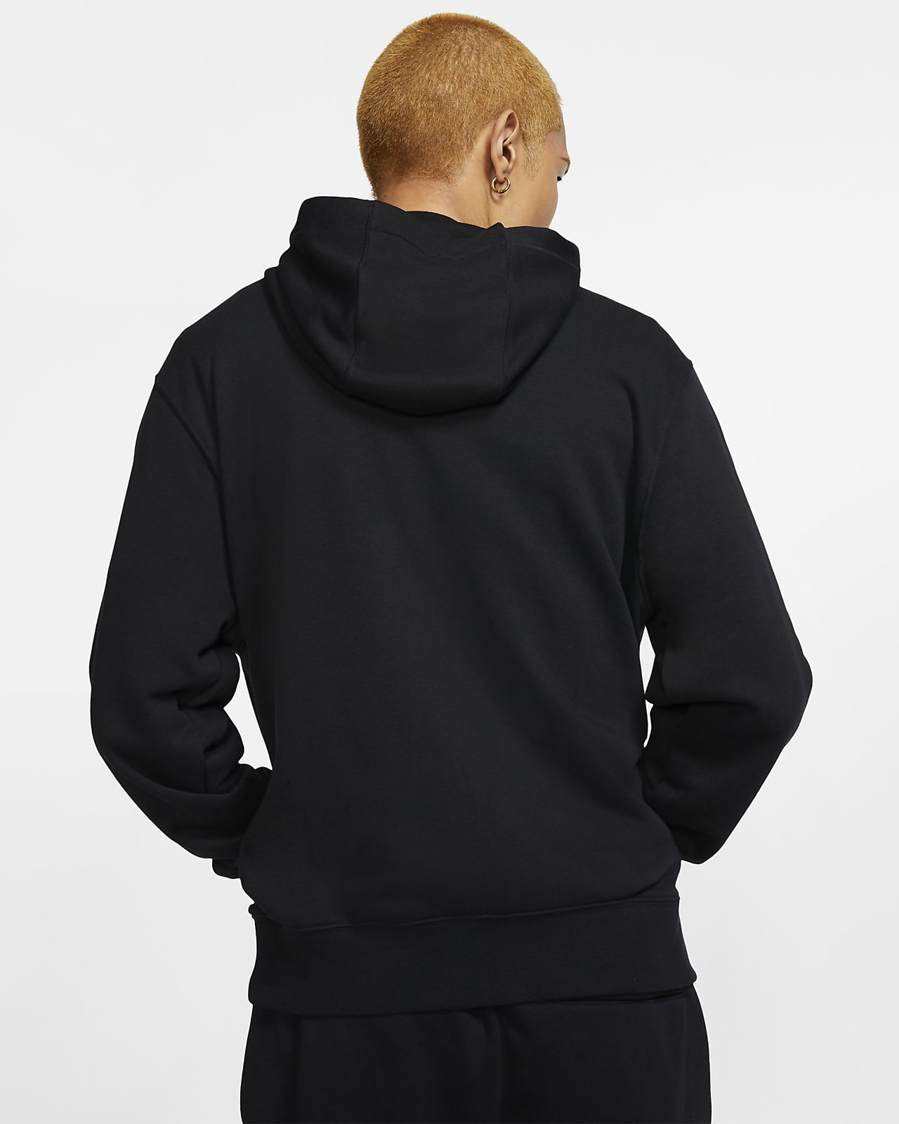 Nike Sportswear Club Full Zip French Terry Hoodie felpa