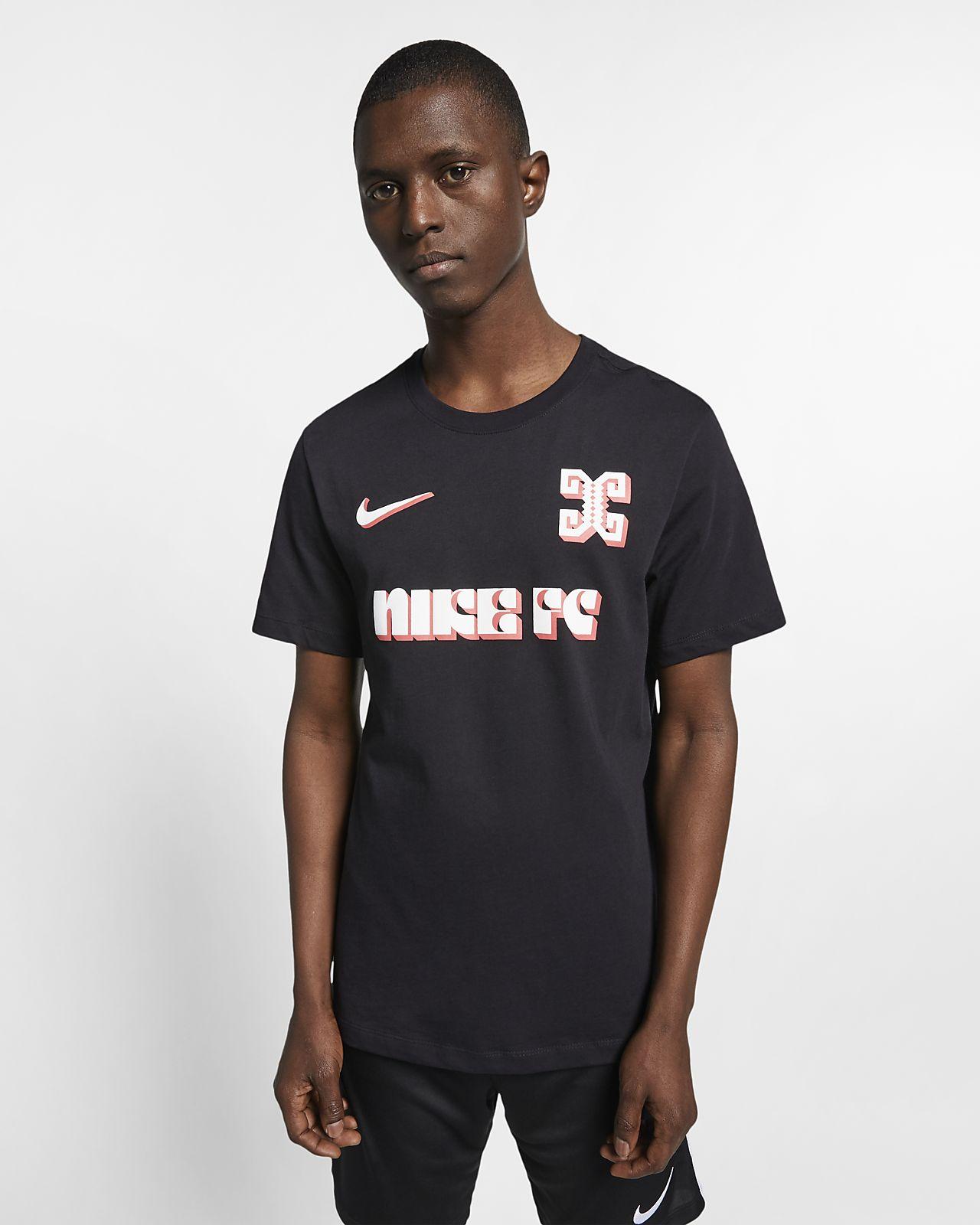 Playera de fútbol para hombre Nike F.C.