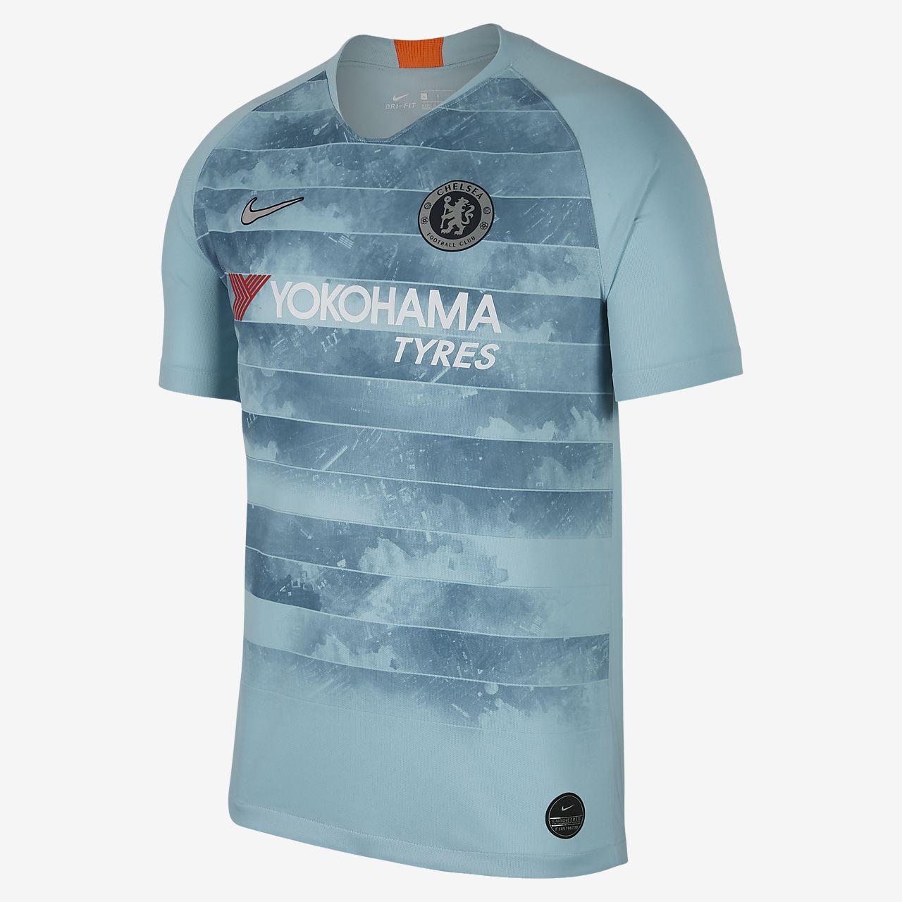 เสื้อแข่งฟุตบอล Connected ผู้ชาย Chelsea FC Stadium Third ฤดูกาล 2018/19