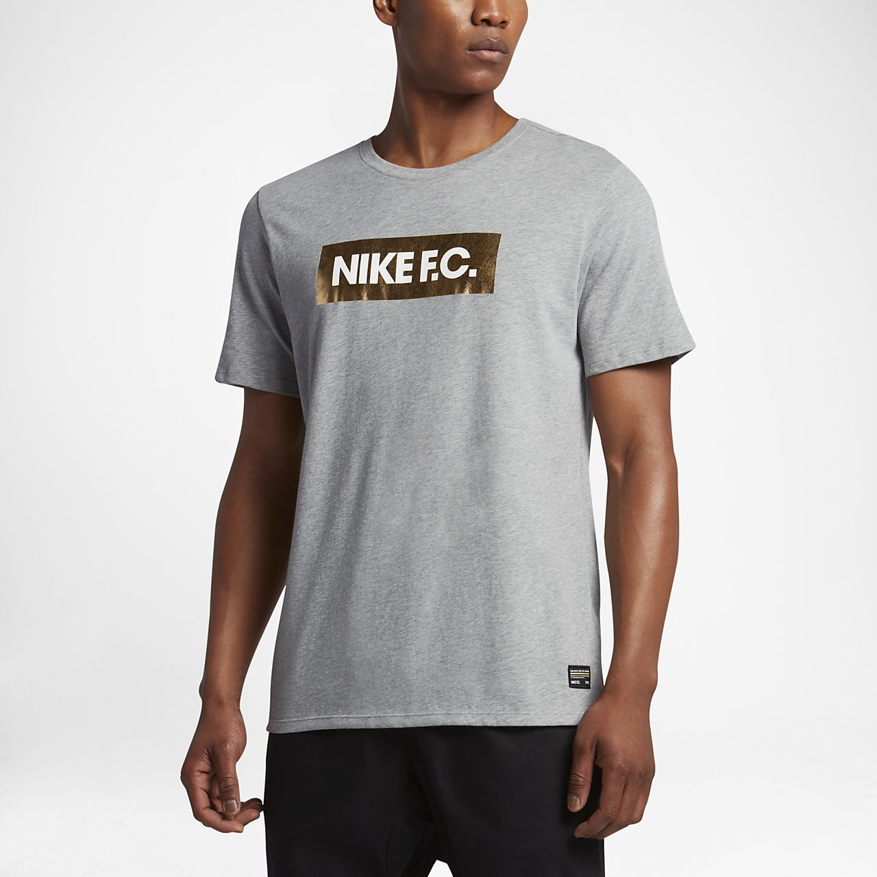 5f3d937be4c9 Nike F.C. Foil Men s T-Shirt. Nike.com IN