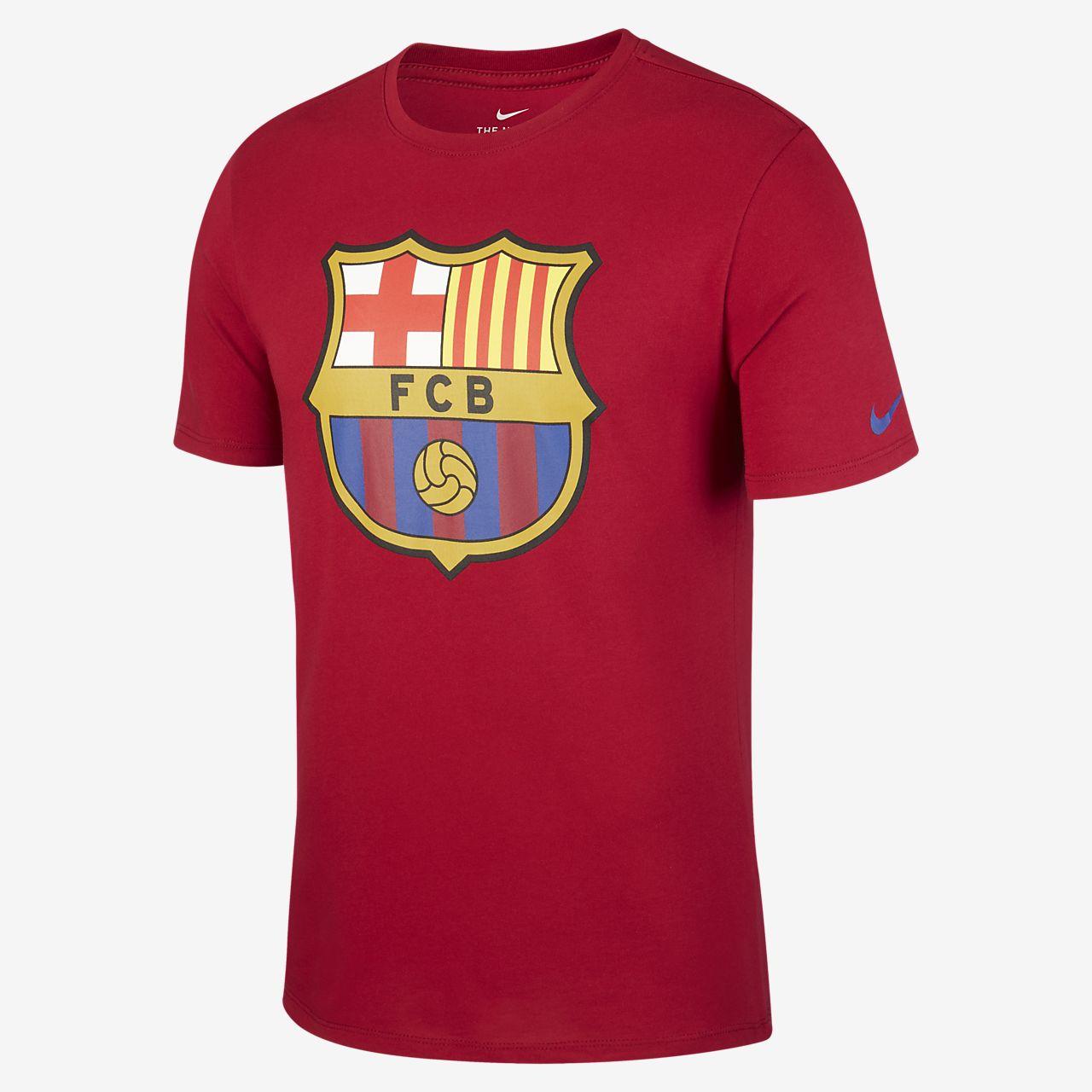 FC Barcelona Crest Camiseta - Hombre. Nike.com ES 2002cec344e