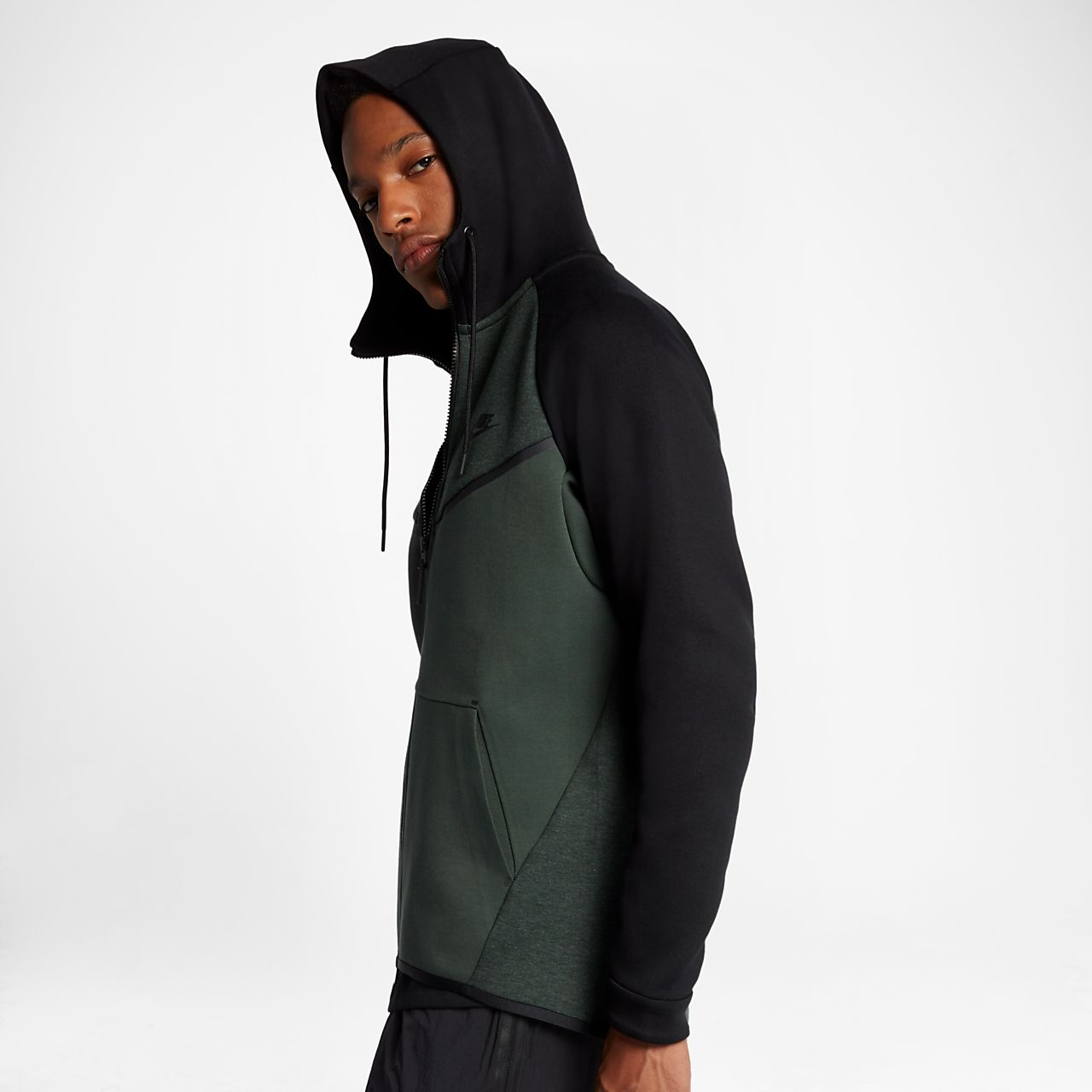 Nike Sportswear Tech Fleece Windrunner Men s Full-Zip Hoodie. Nike ... 1b3e9c41d