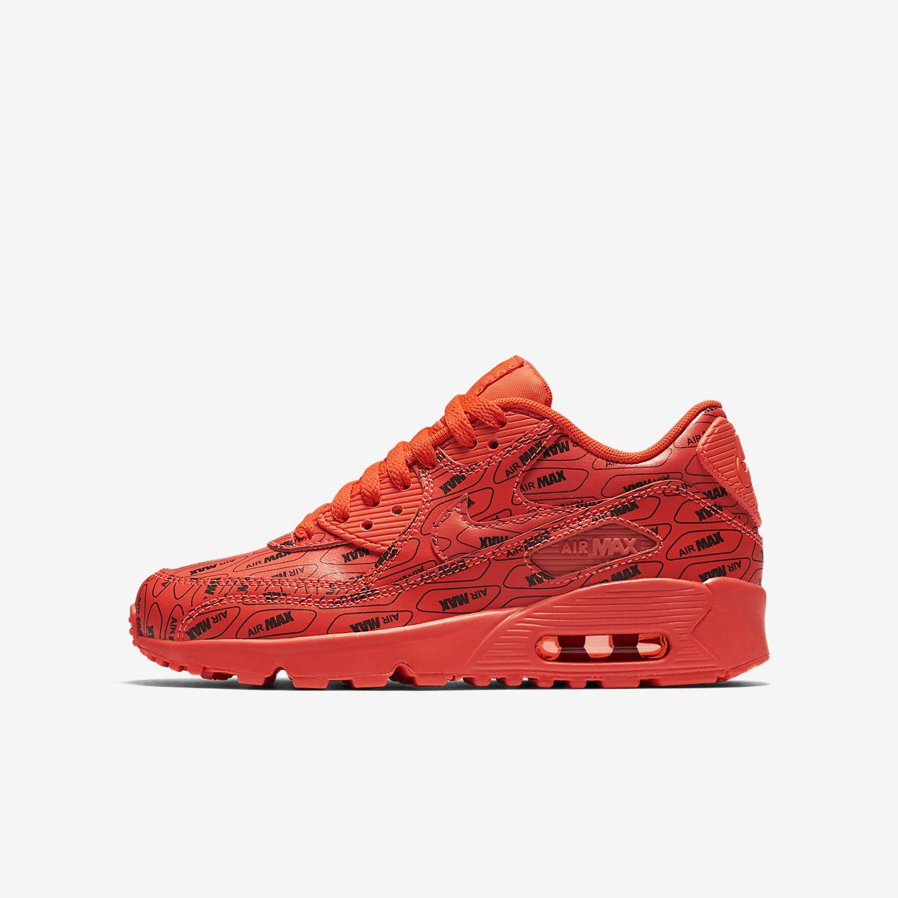 quality design d5e42 681c3 ... authentic nike air max 90 se leather sko til store børn 08327 ec940