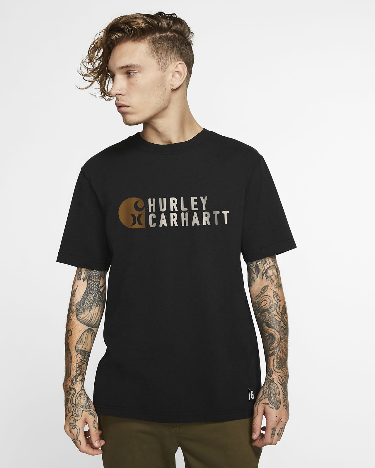Hurley x Carhartt Stacked Men's Premium Fit T-Shirt