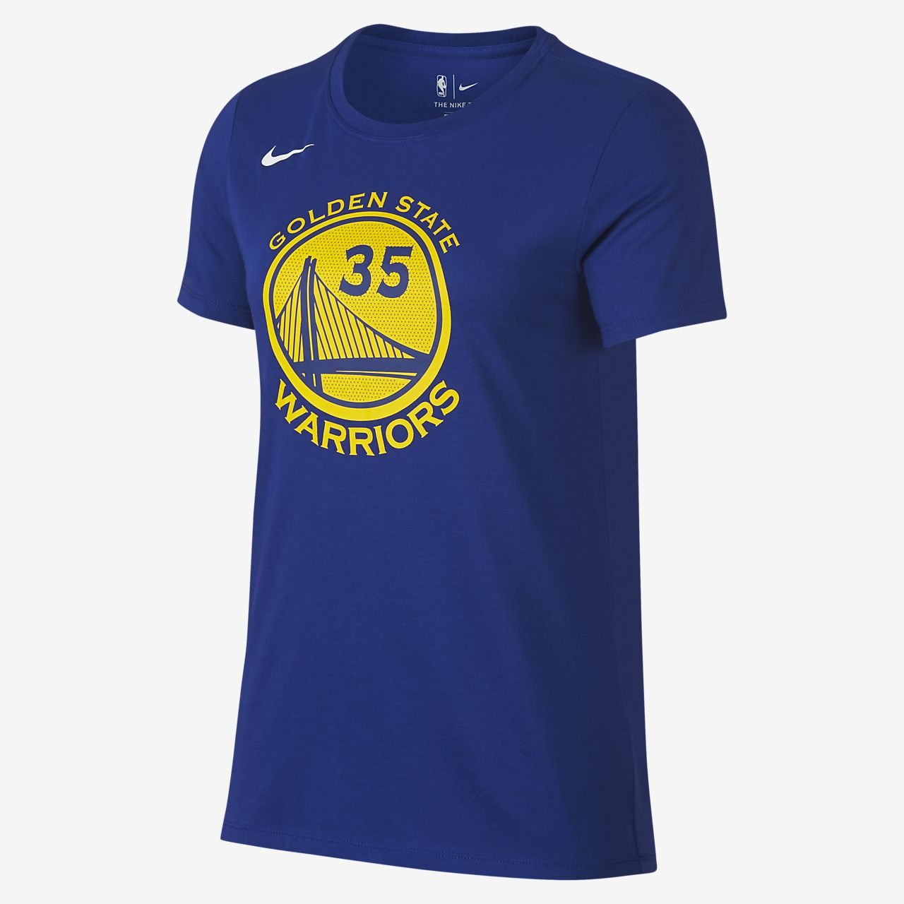 Kevin Durant Golden State Warriors Nike Dri-FIT Women's NBA T-Shirt