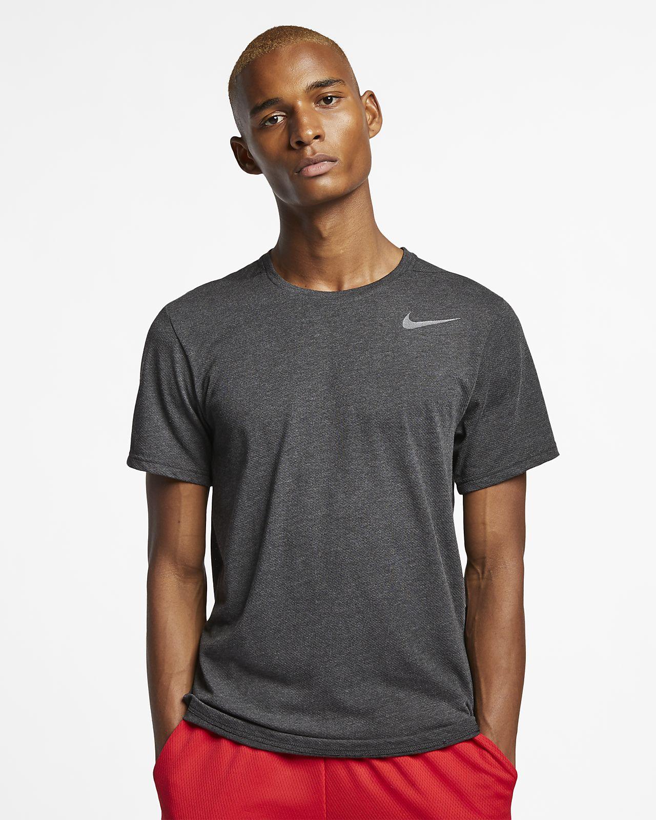 Nike Breathe Kısa Kollu Erkek Antrenman Üstü