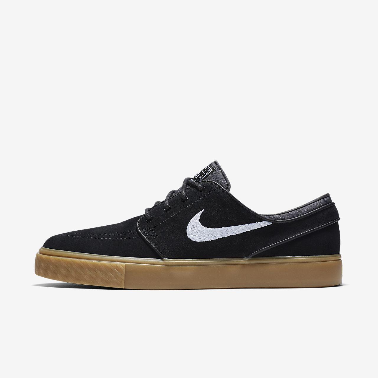Nike SB Zoom Stefan Janoski (333824-021) Mens Skateboarding Shoes Black/White/Brown