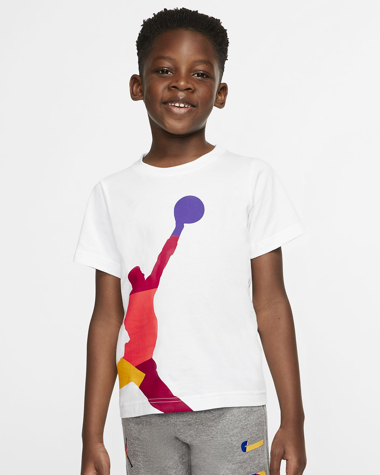 T-shirt a manica corta Jordan Jumpman - Bambini