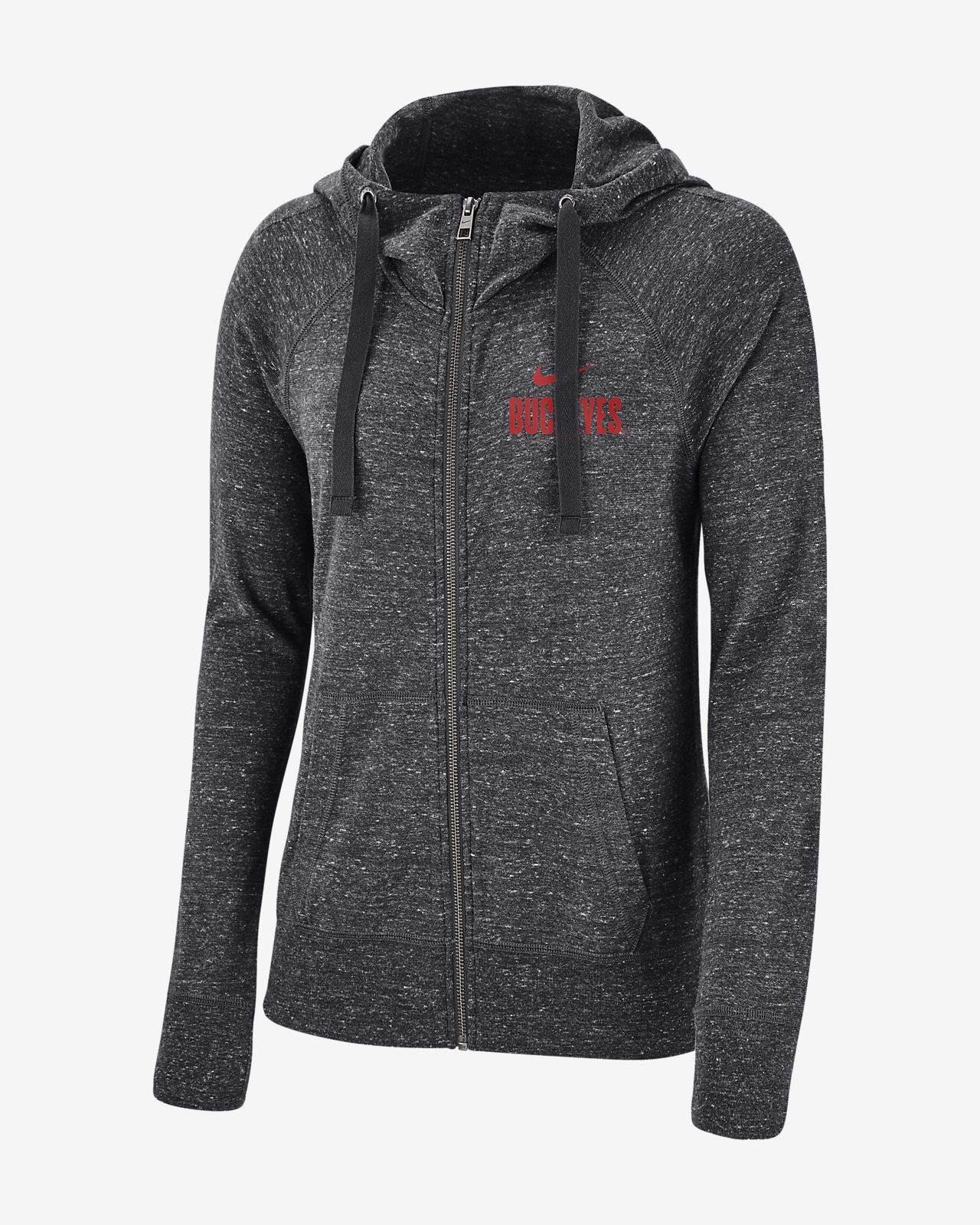 Nike College Gym Vintage (Ohio State) Women's Full-Zip Hoodie