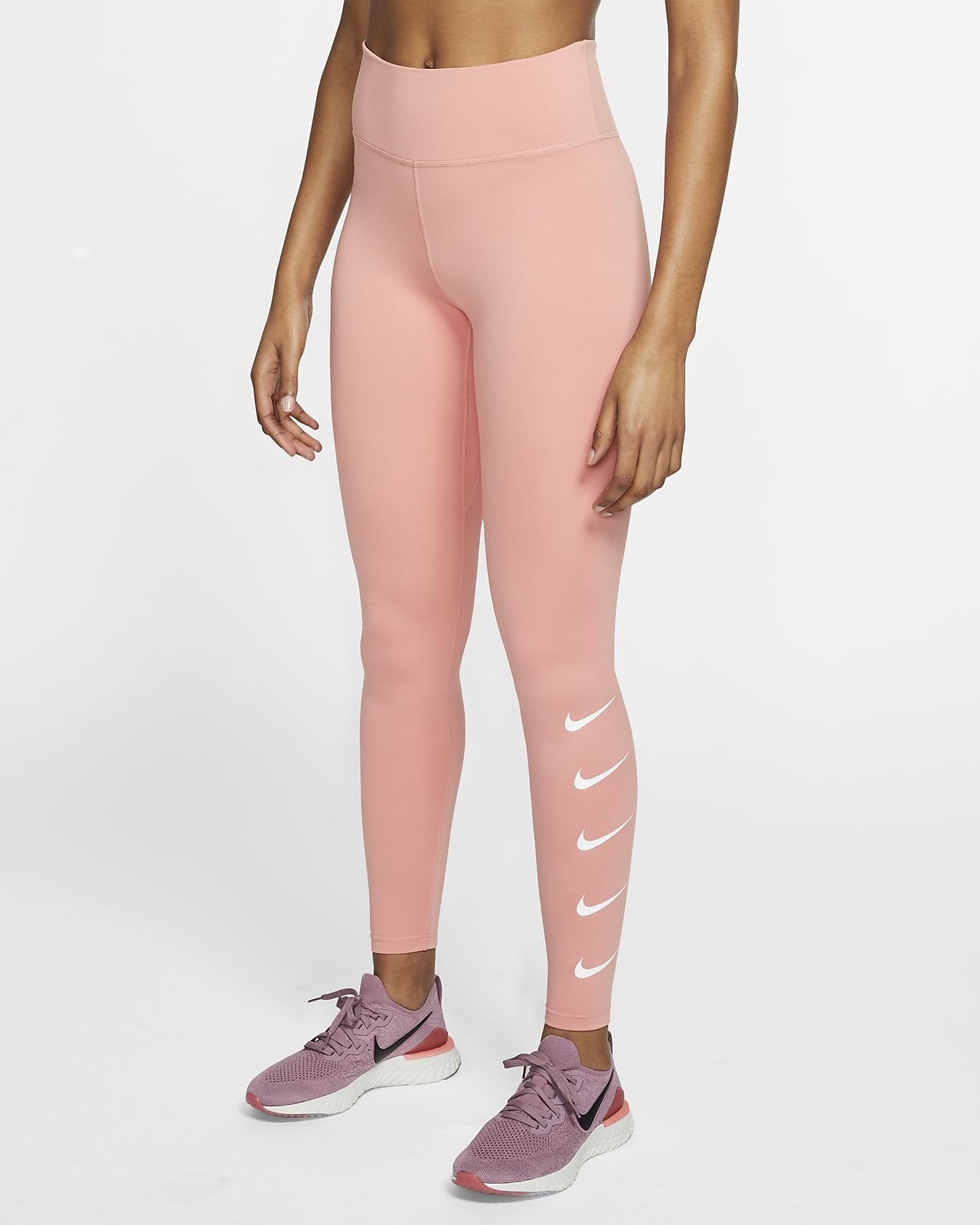 Nike Swoosh Hardlooptights voor dames