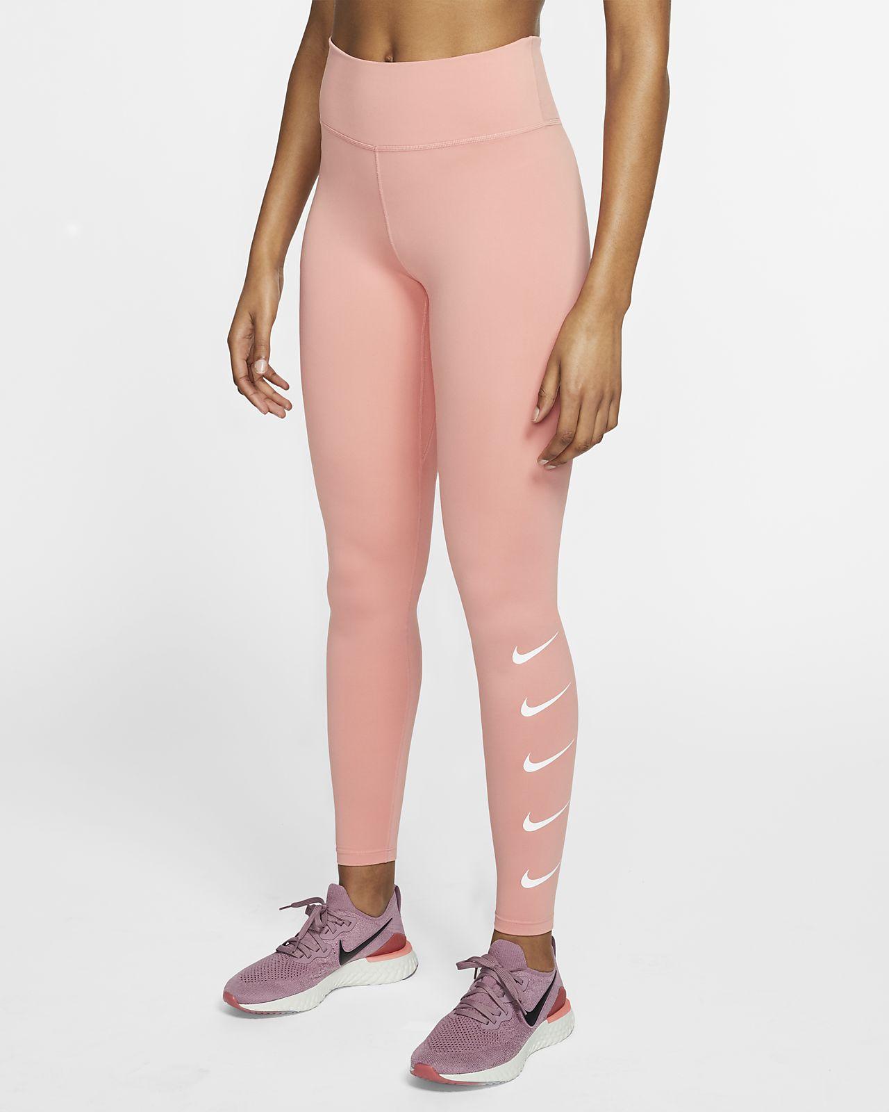 Nike Swoosh Lauf-Tights für Damen