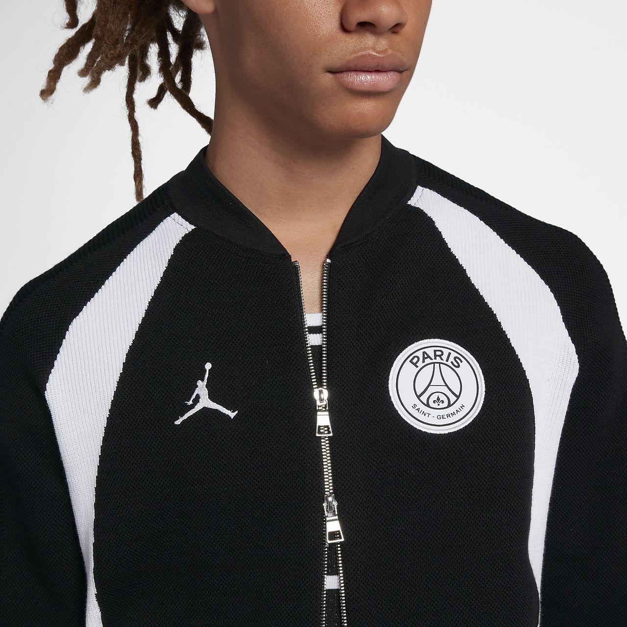f06f8c47a56 PSG Flight Knit Men s Full-Zip Jacket. Nike.com FI