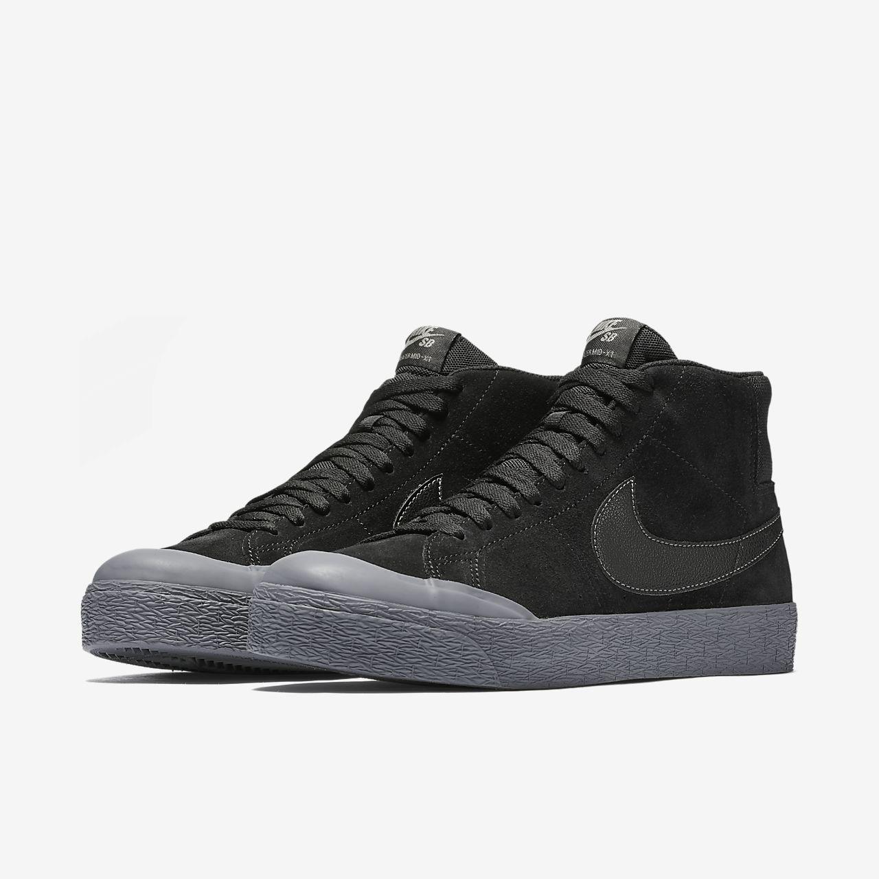 Nike Blazer Mens Gris Moyen Gilet