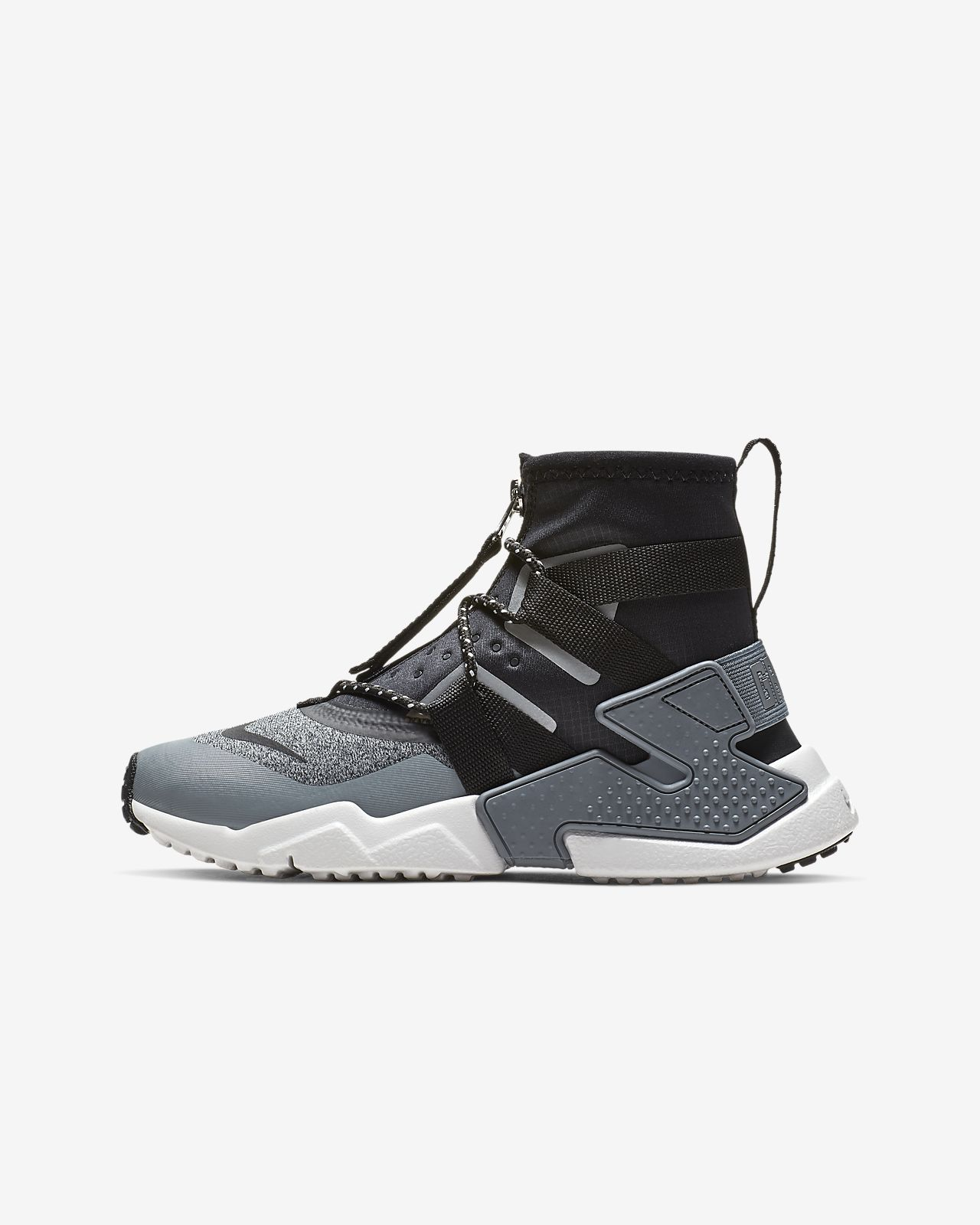 71d0bc93ed7354 Nike Air Huarache Gripp Shield Big Kids  Shoe. Nike.com