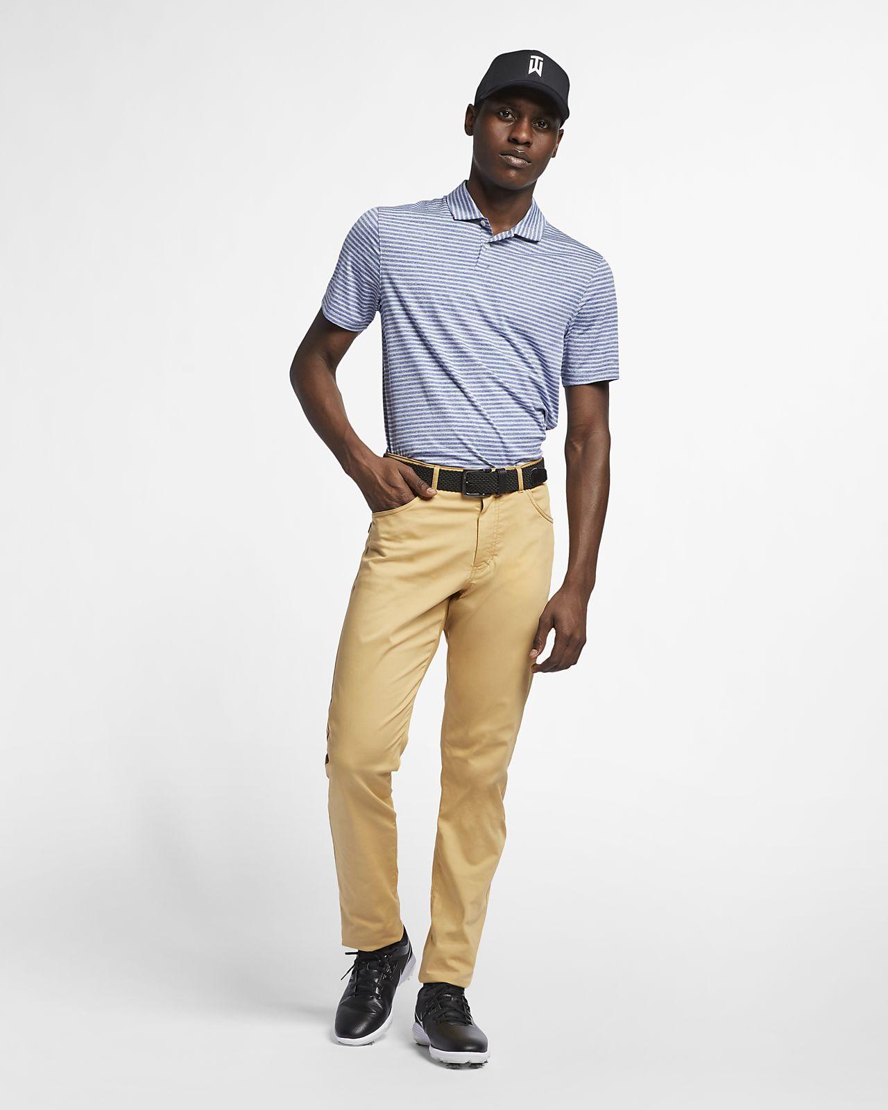 nike 5 pocket golf pants club gold