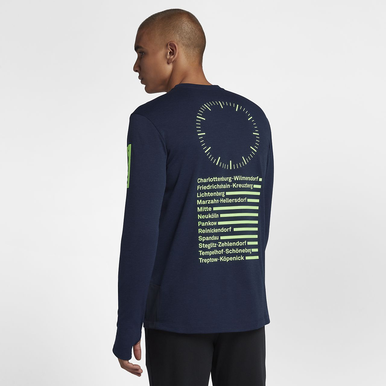 510fd5bc Nike Sphere (Berlin 2018) Men's Long-Sleeve Running Top. Nike.com NO