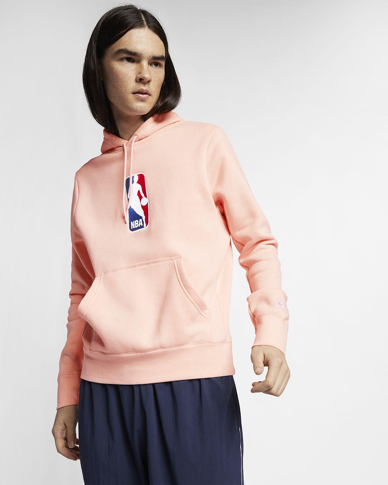 Ανδρική μπλούζα skateboarding με κουκούλα Nike SB x NBA Icon
