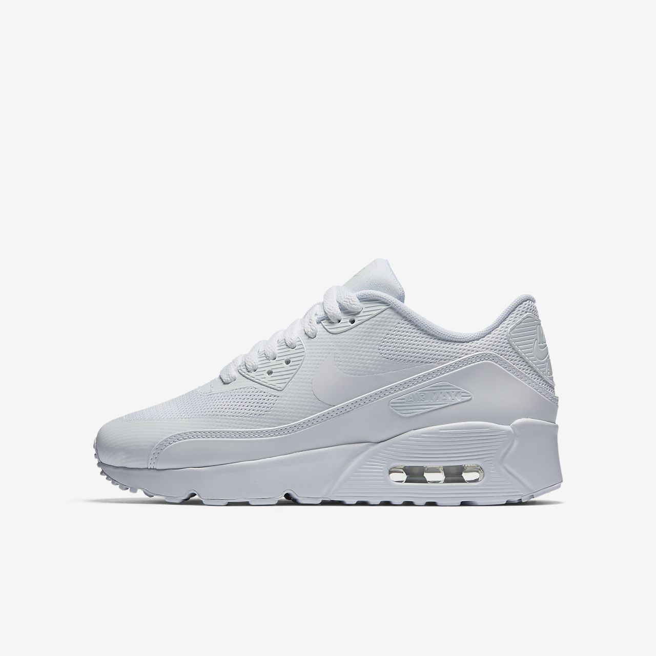 nike air max 90 leather weiss kinder damen