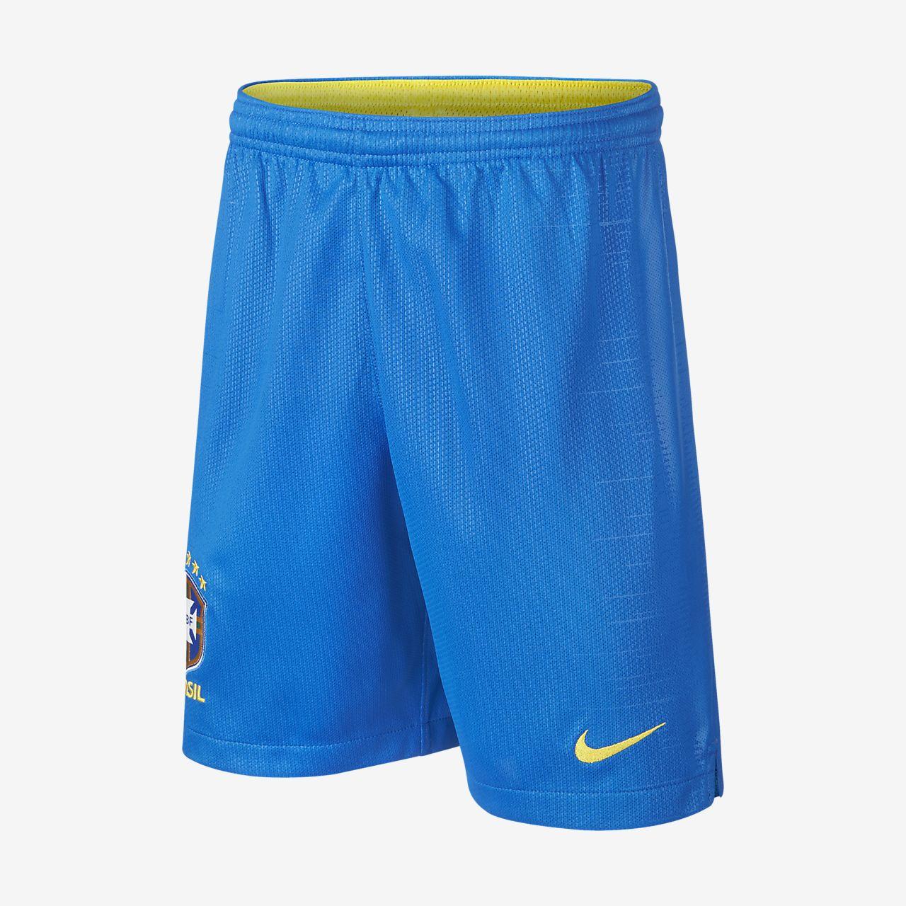 2018 Brasil CBF Stadium Home Pantalons curts de futbol - Nen/a