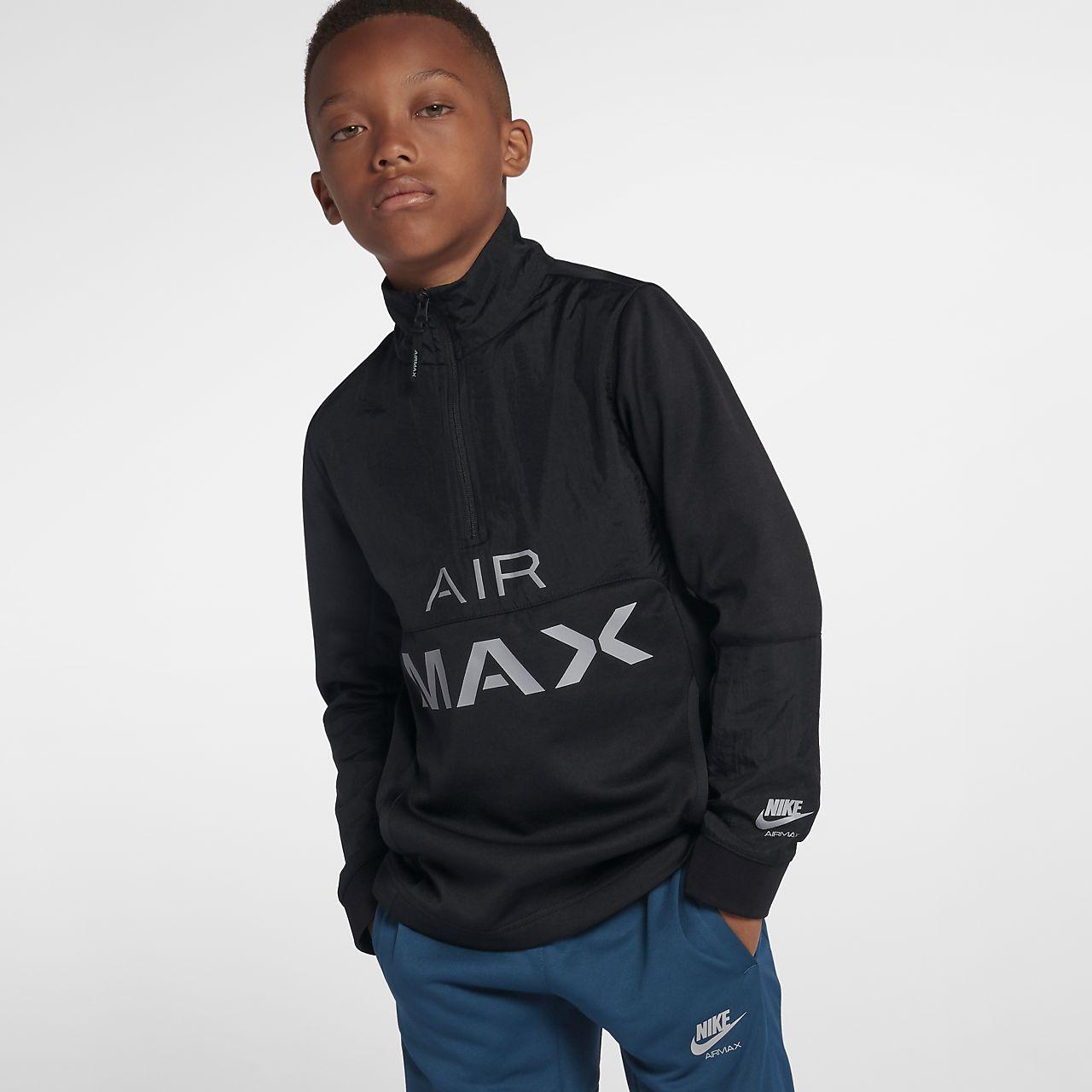 Nike Air Max løpejakke til store barn (gutt)