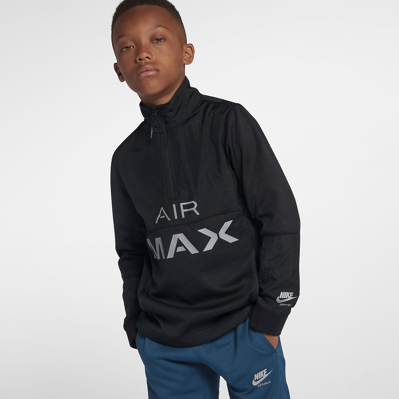 efd45415743 Veste de survêtement Nike Air Max pour Garçon plus âgé. Nike.com FR