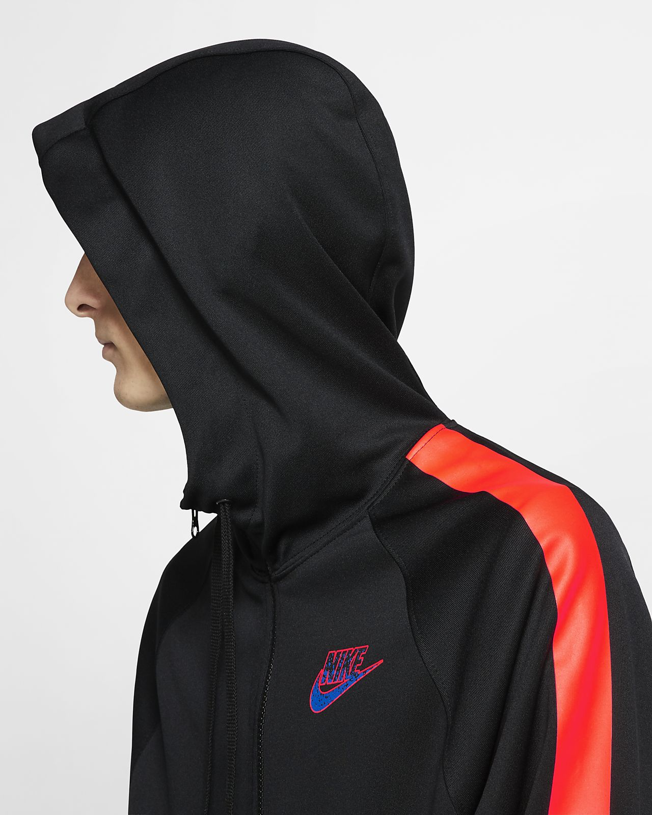 b522da98615 ... Ανδρική μπλούζα με κουκούλα και φερμουάρ στο μισό μήκος Nike Sportswear