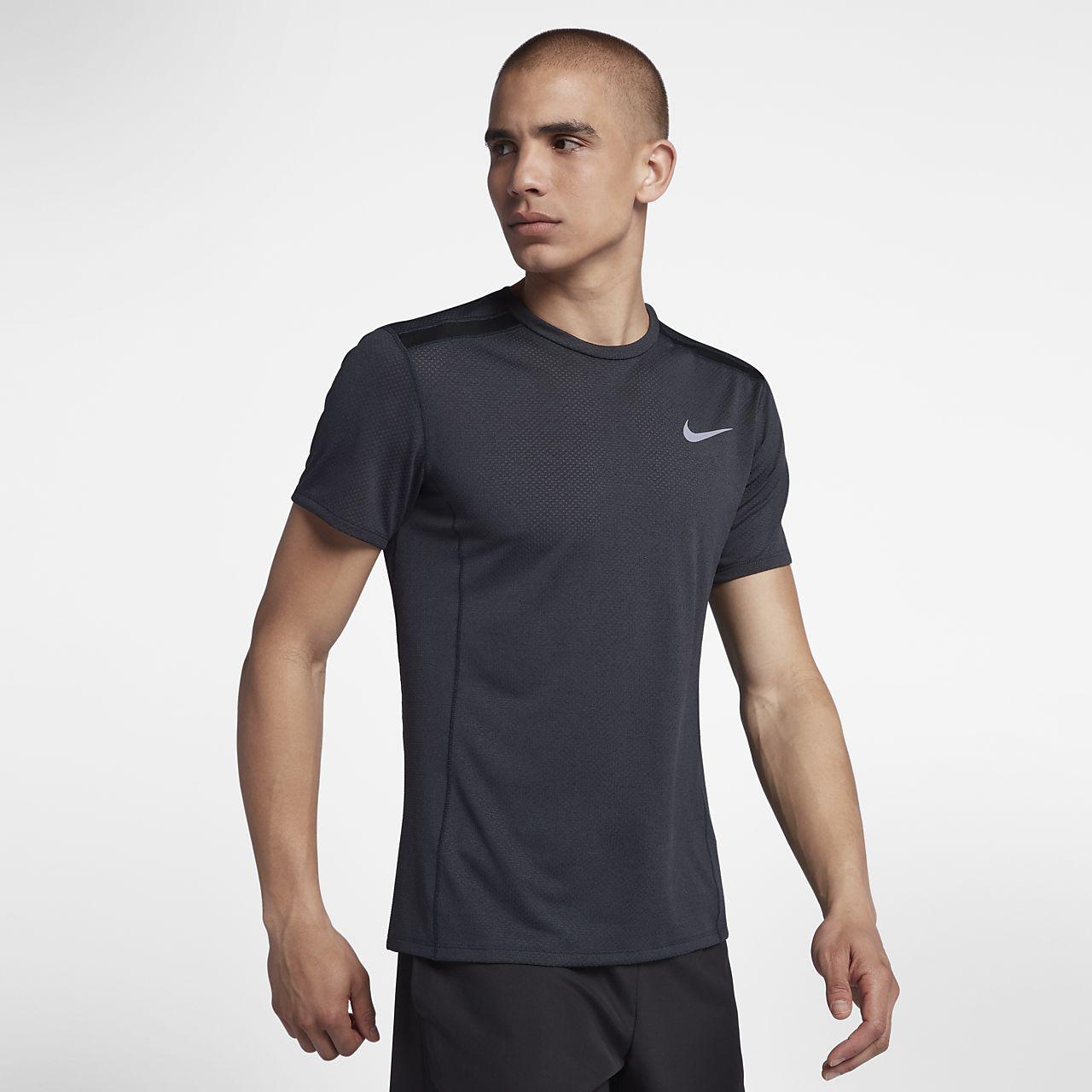 huge discount d8ae3 a8484 Nike Miler Short Sleeve T Shirt Mens