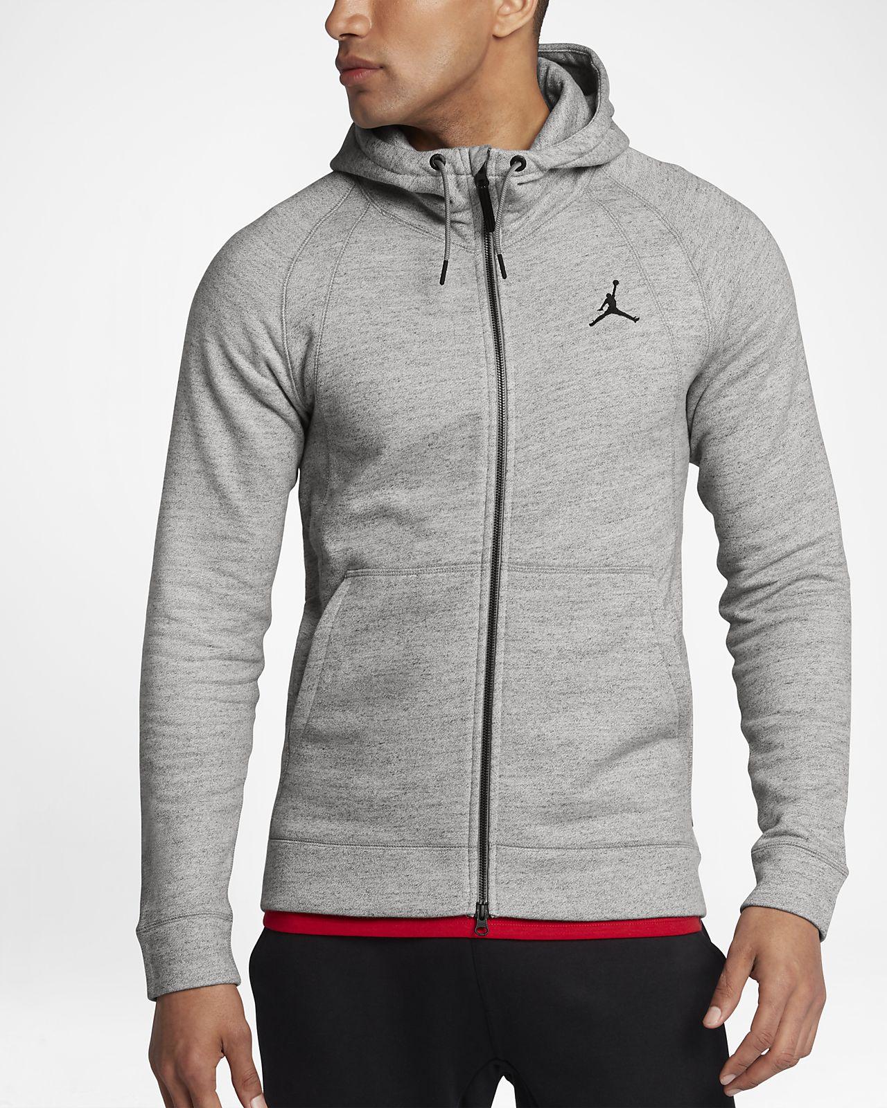 ... Jordan Sportswear Wings Fleece Men's Full-Zip Hoodie
