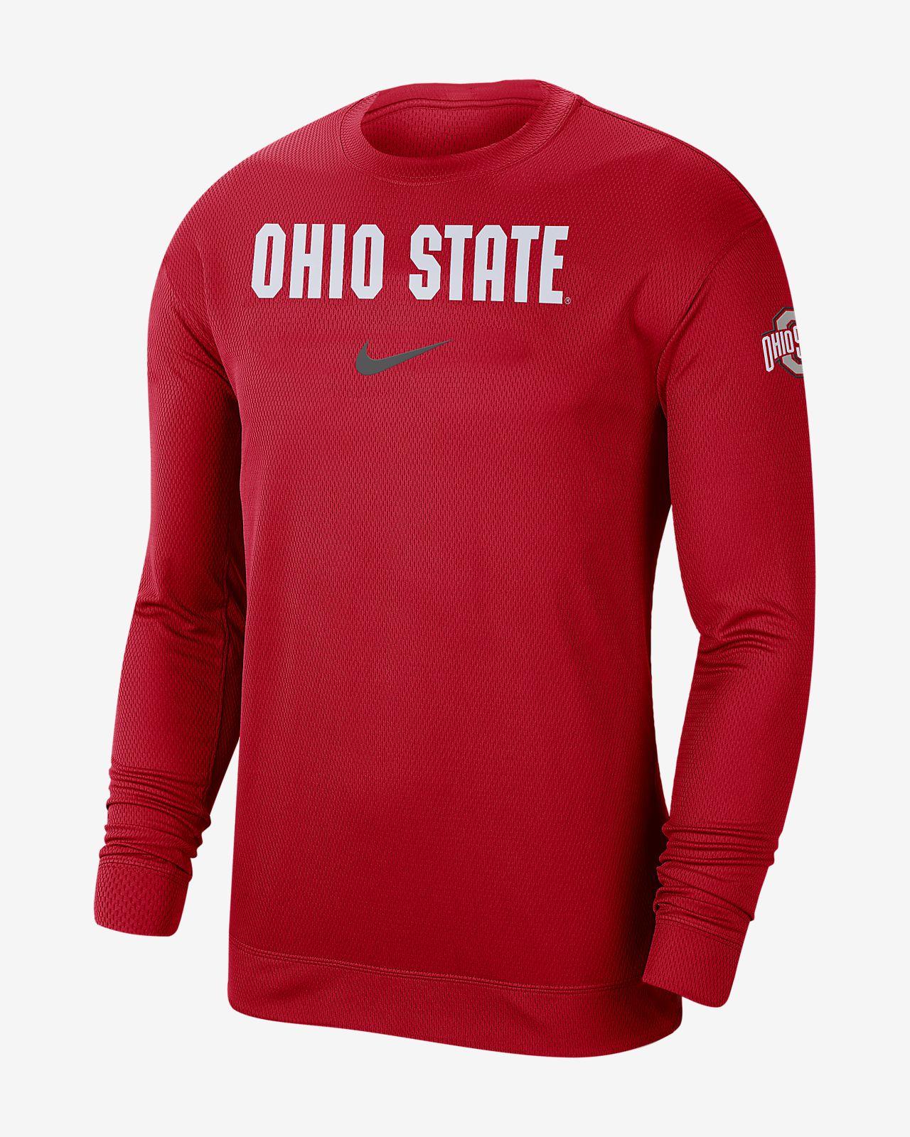 Nike College Dri-FIT Spotlight (Ohio State) Men's Long-Sleeve Top