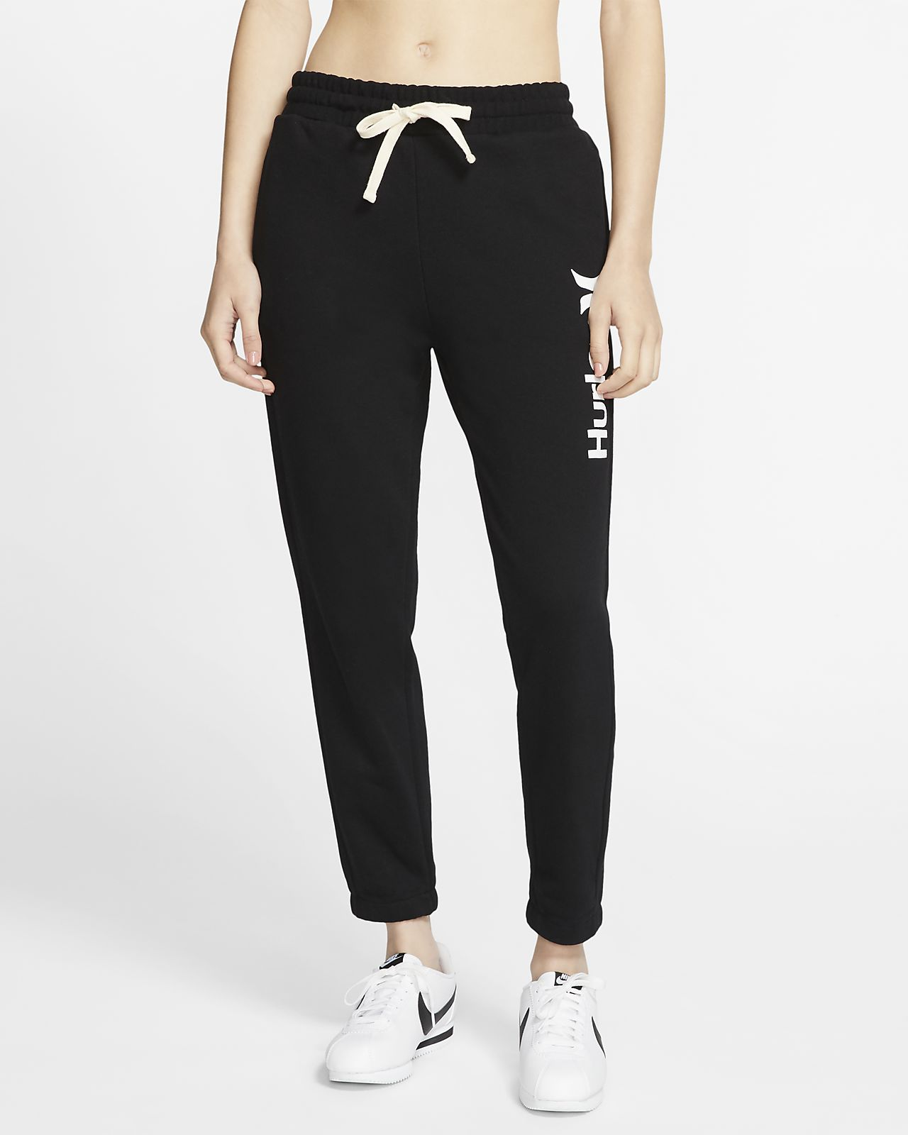 Pantalon de jogging en tissu Fleece Hurley One And Only pour Femme