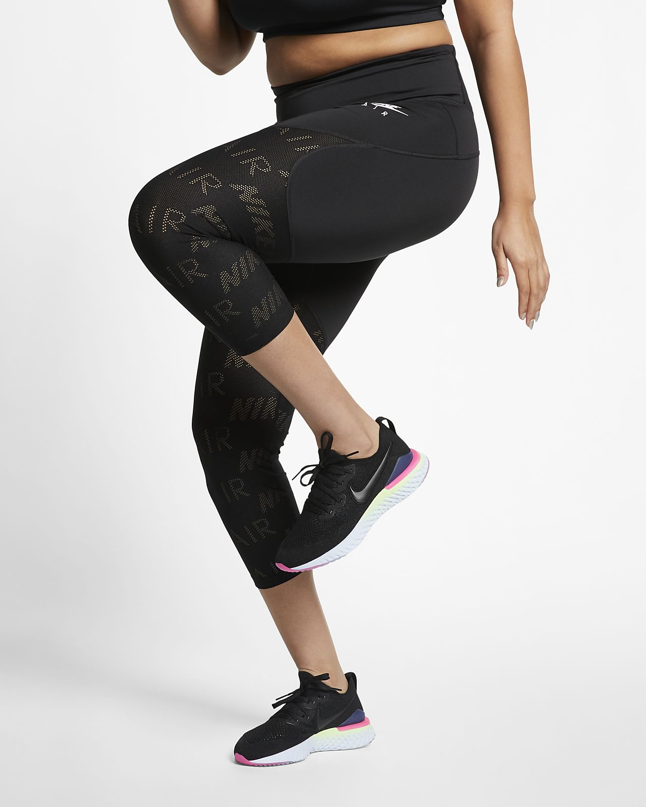 dbc4cbbd9cbf Γυναικείο κολάν 3 4 για τρέξιμο Nike Air Fast (μεγάλα μεγέθη). Nike ...