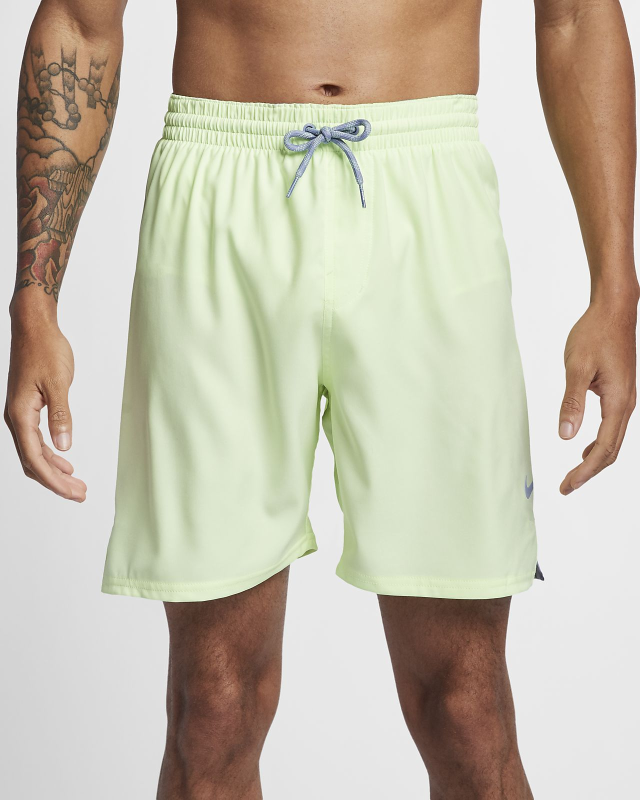 "Nike Solid Vital Men's 7"" Swim Trunks"