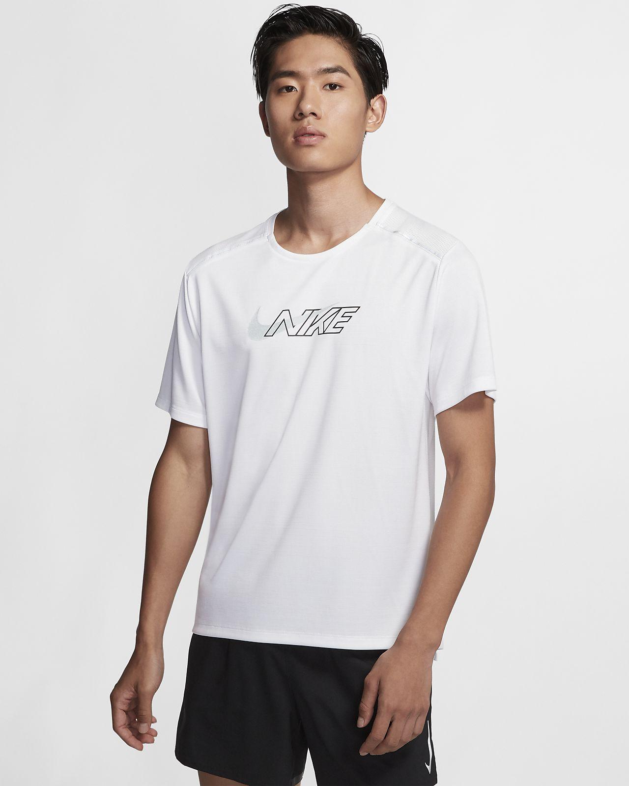 Nike Dri-FIT Miler Flash 男子短袖跑步上衣