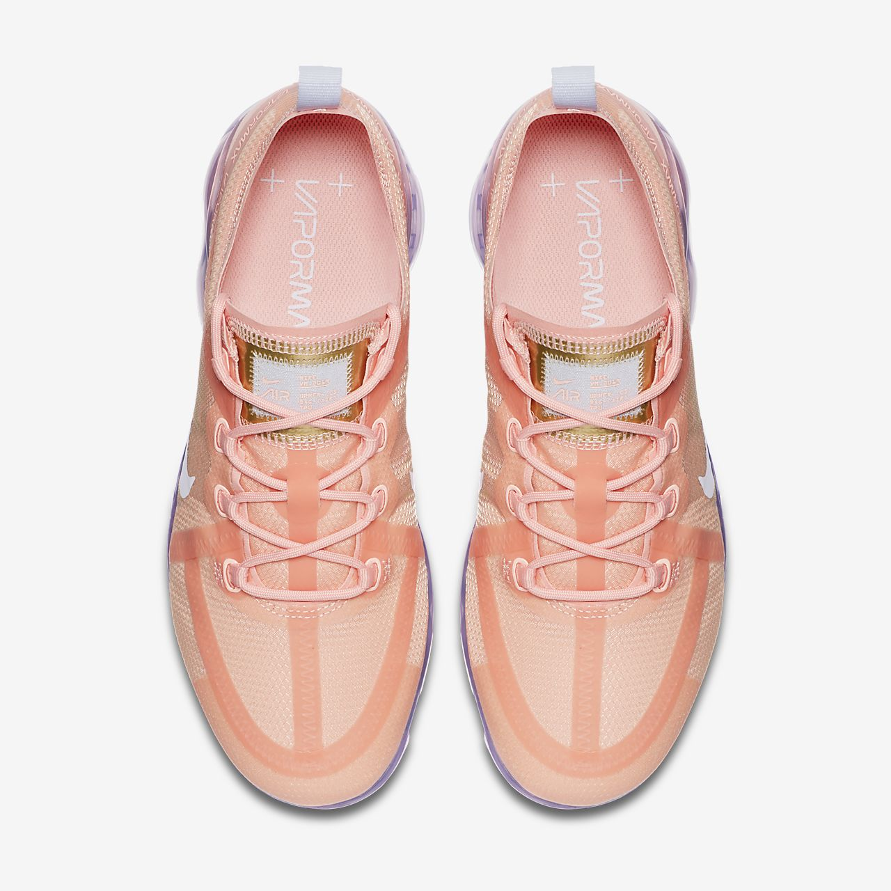 Scarpa Nike Air Vapormax 2019 Donna Rosa